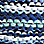 Jeansblau/Multicolor-930792