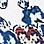 blauw/multicolour-734533