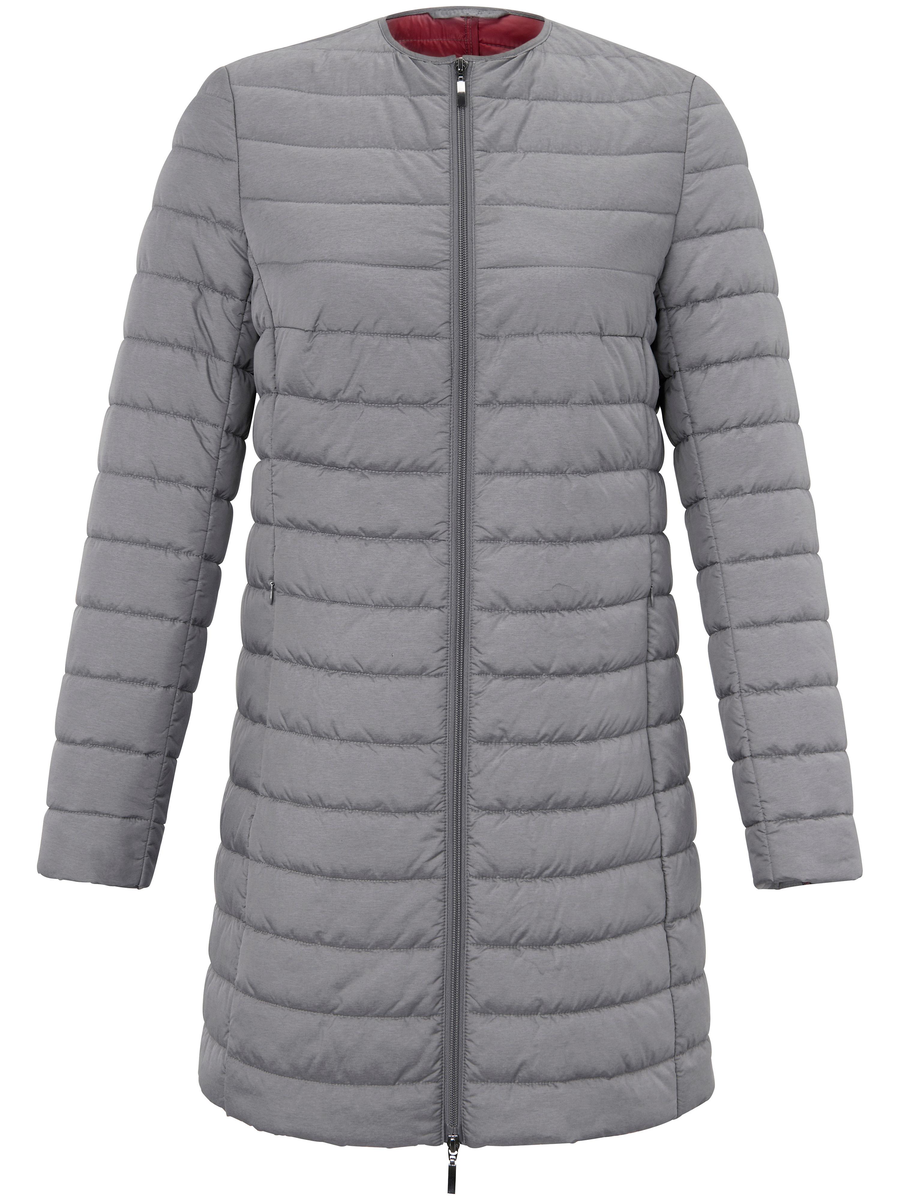 Image of   Quiltet jakke Fra Emilia Lay grå
