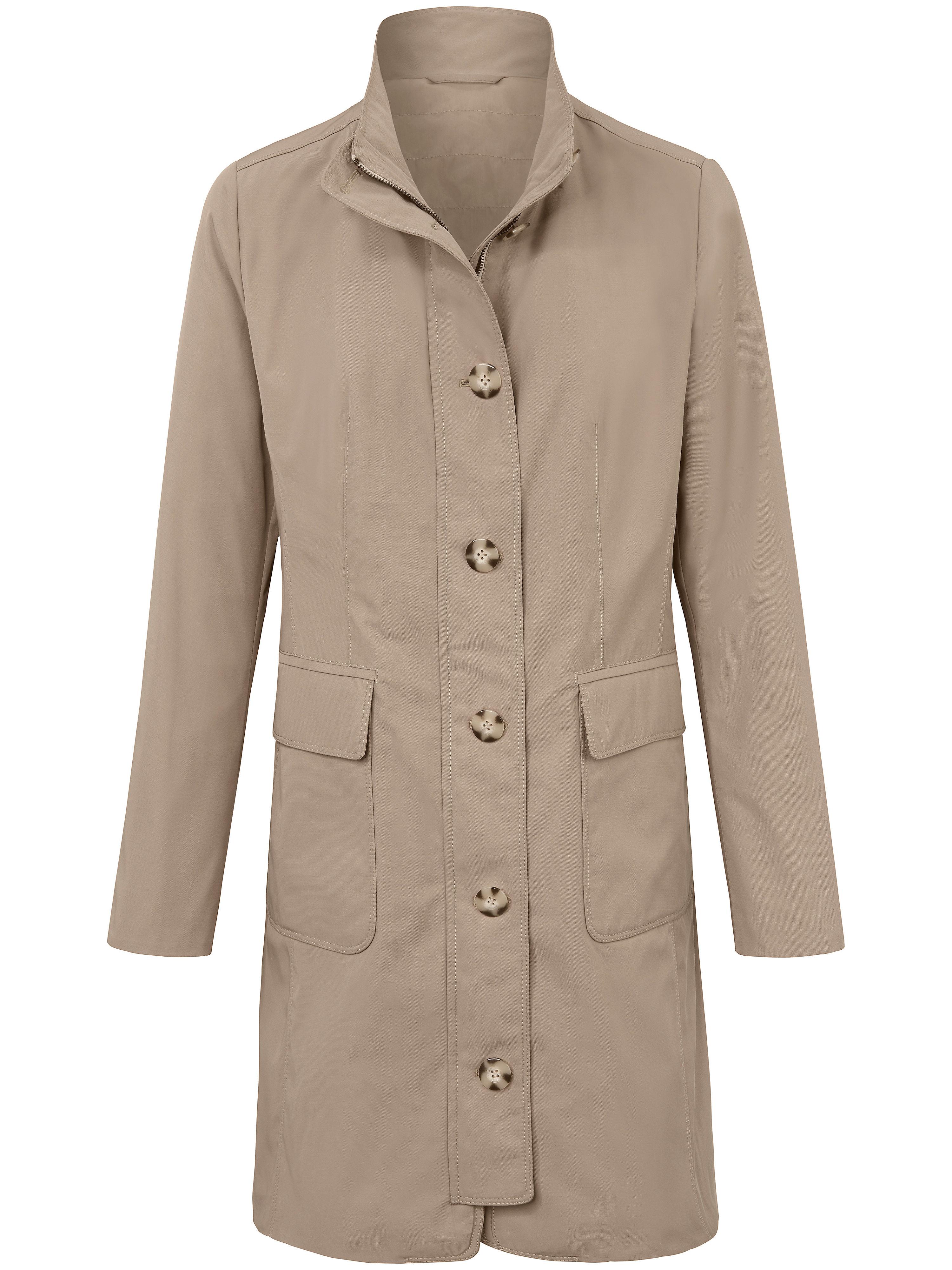Le manteau  MYBC beige taille 40