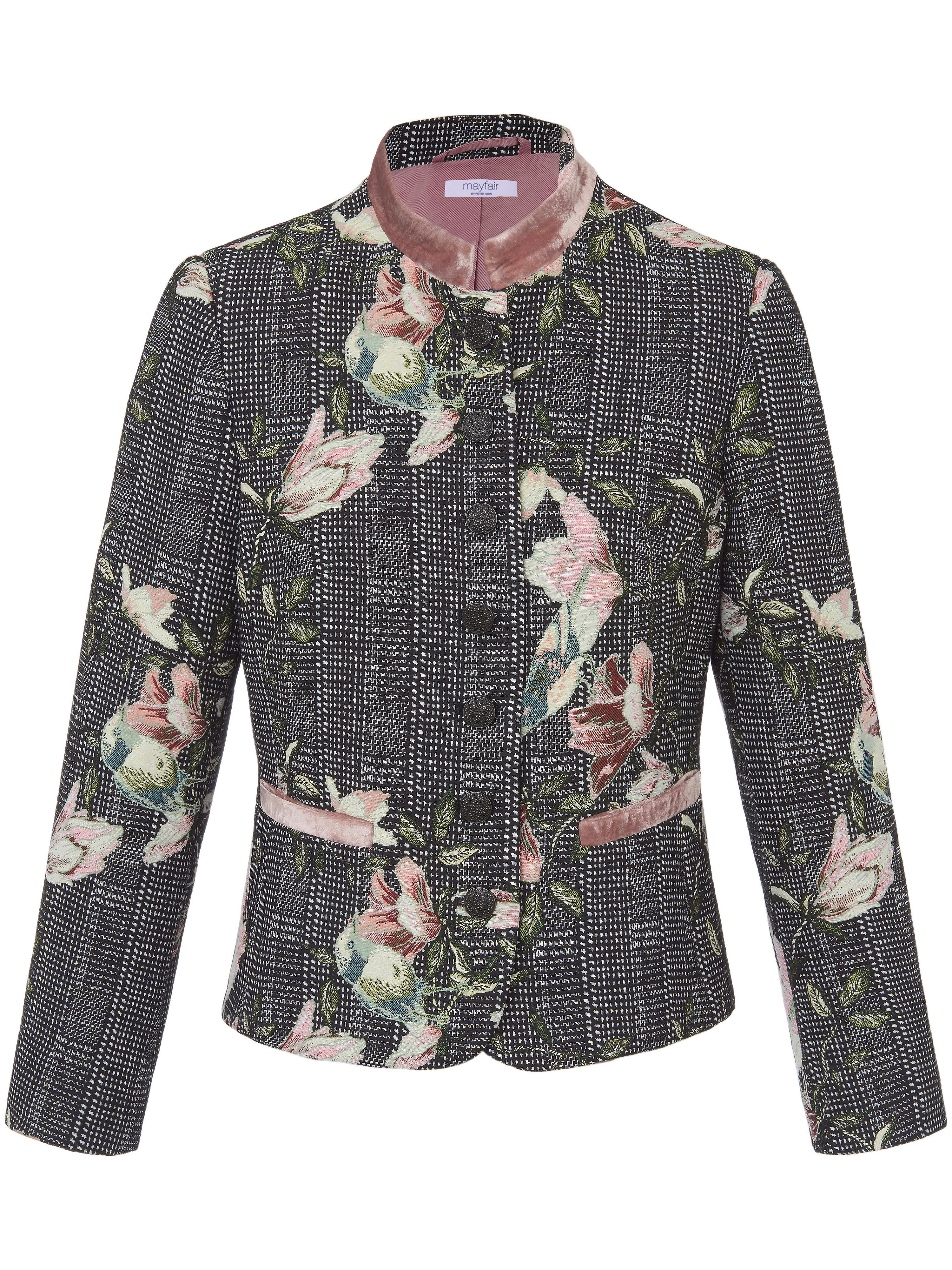 Le blazer  mayfair by Peter Hahn multicolore taille 46