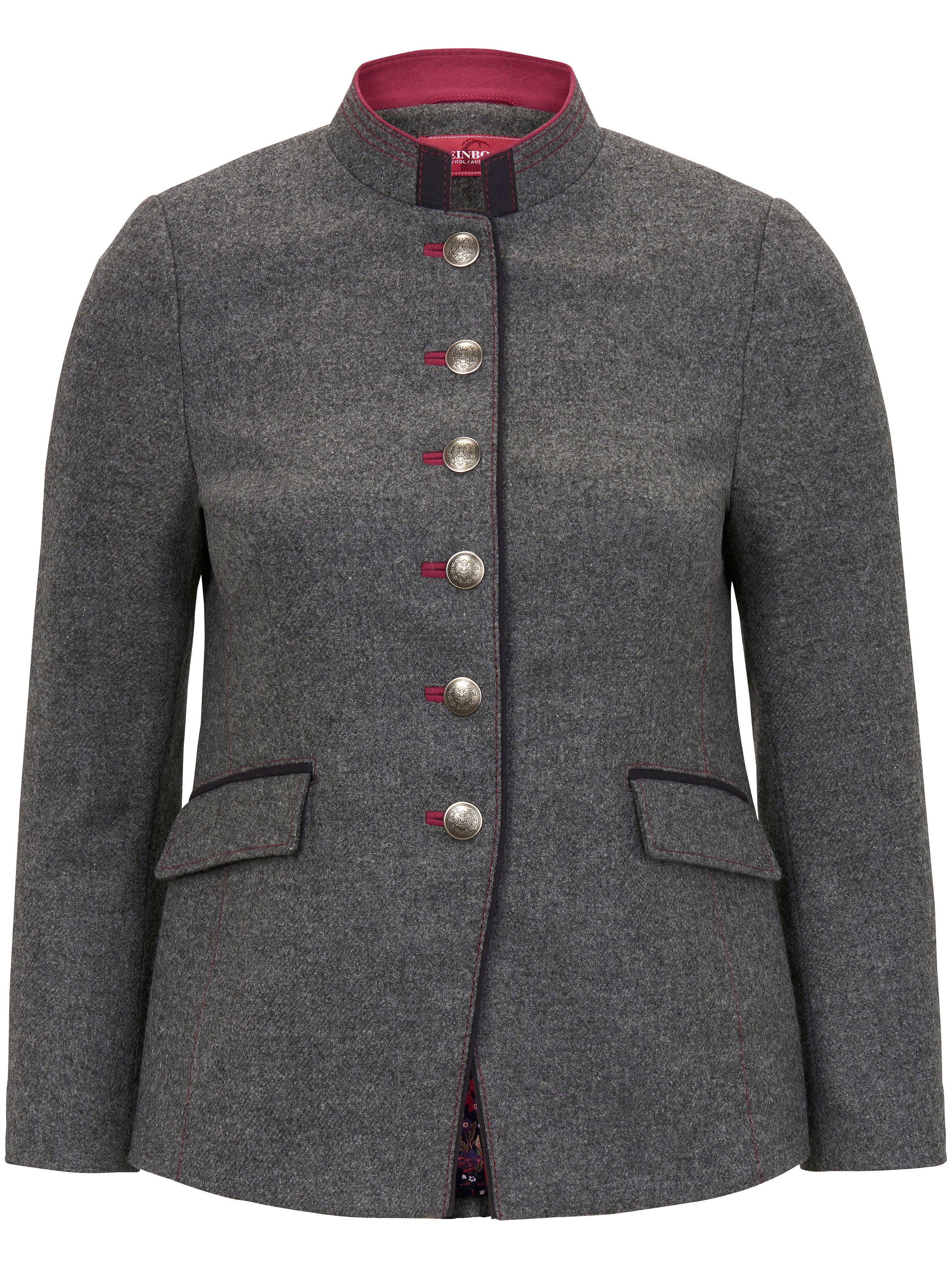 Image of   Jakke 100% ren ny uld Fra Steinbock grå