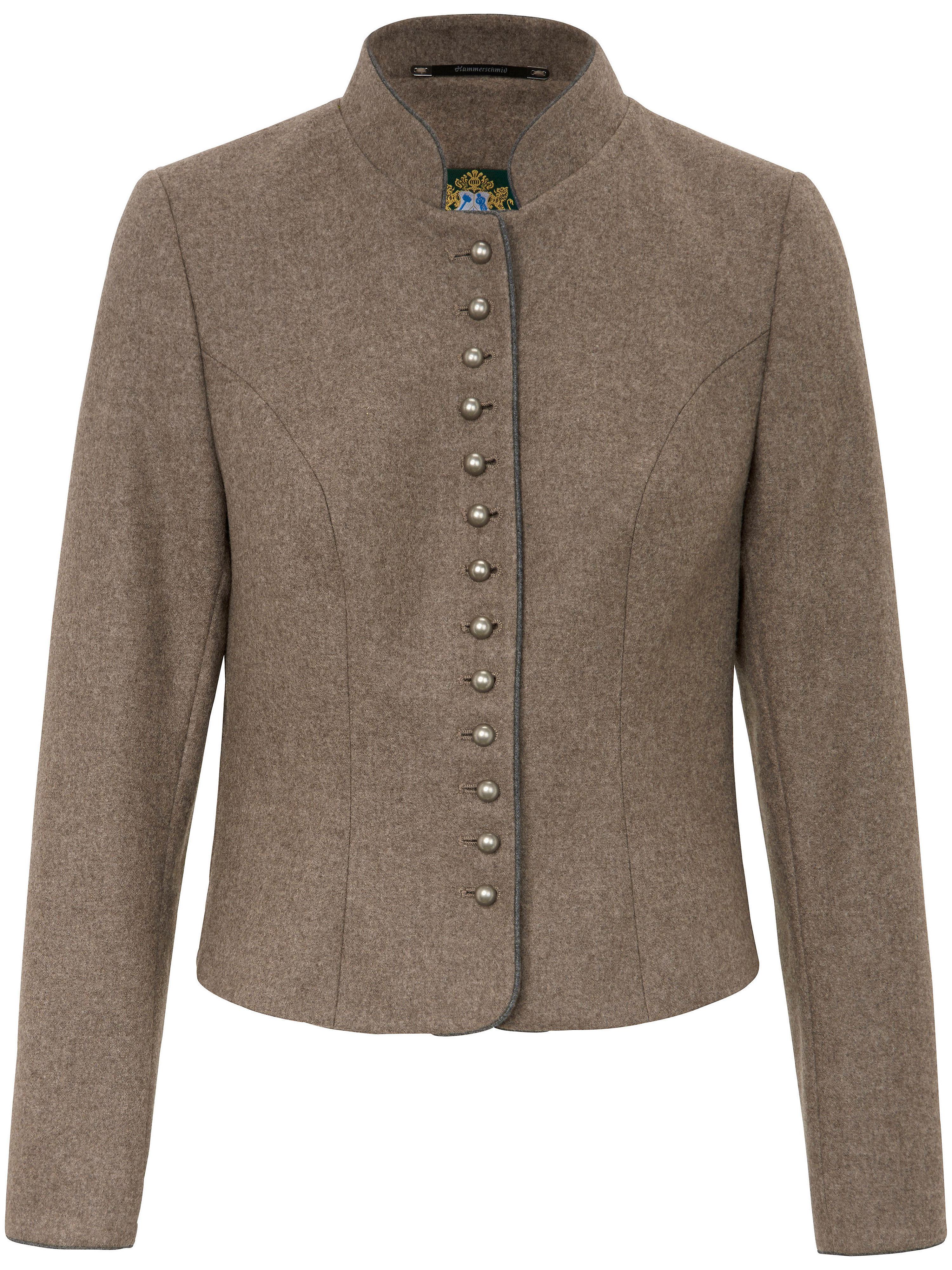 La veste bavaroise 100% laine vierge  Hammerschmid beige
