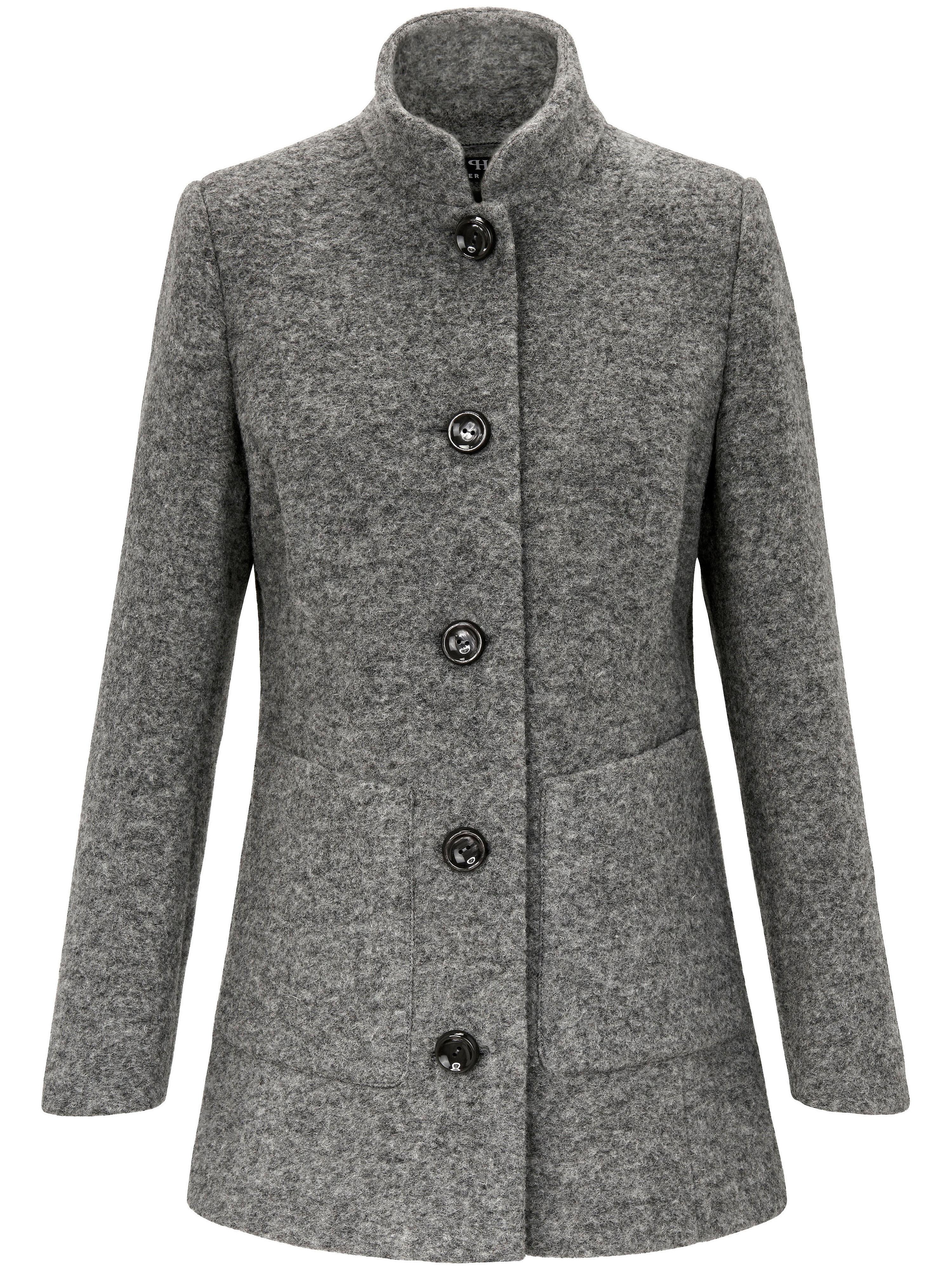 Image of   Jakke i 100% uld Fra Peter Hahn grå