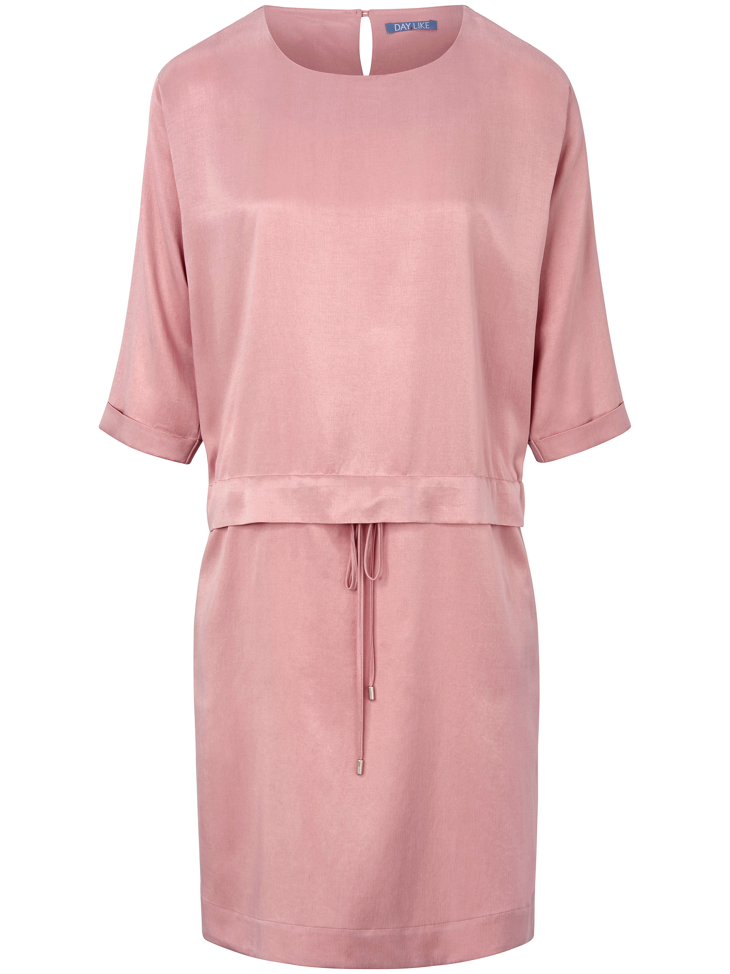 La robe manches 3/4  DAY.LIKE rose taille 48