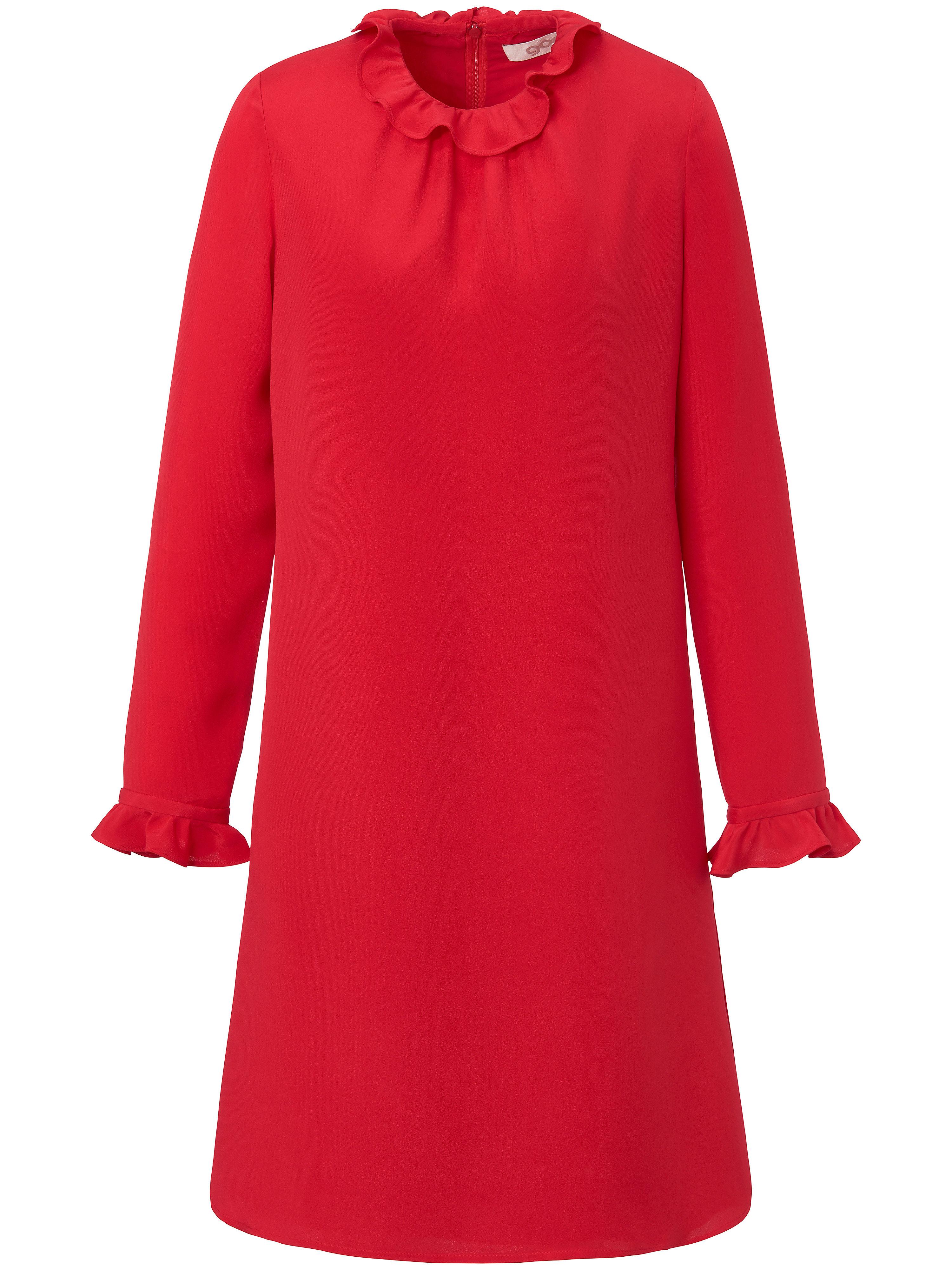 La robe 100% soie  GOAT rouge