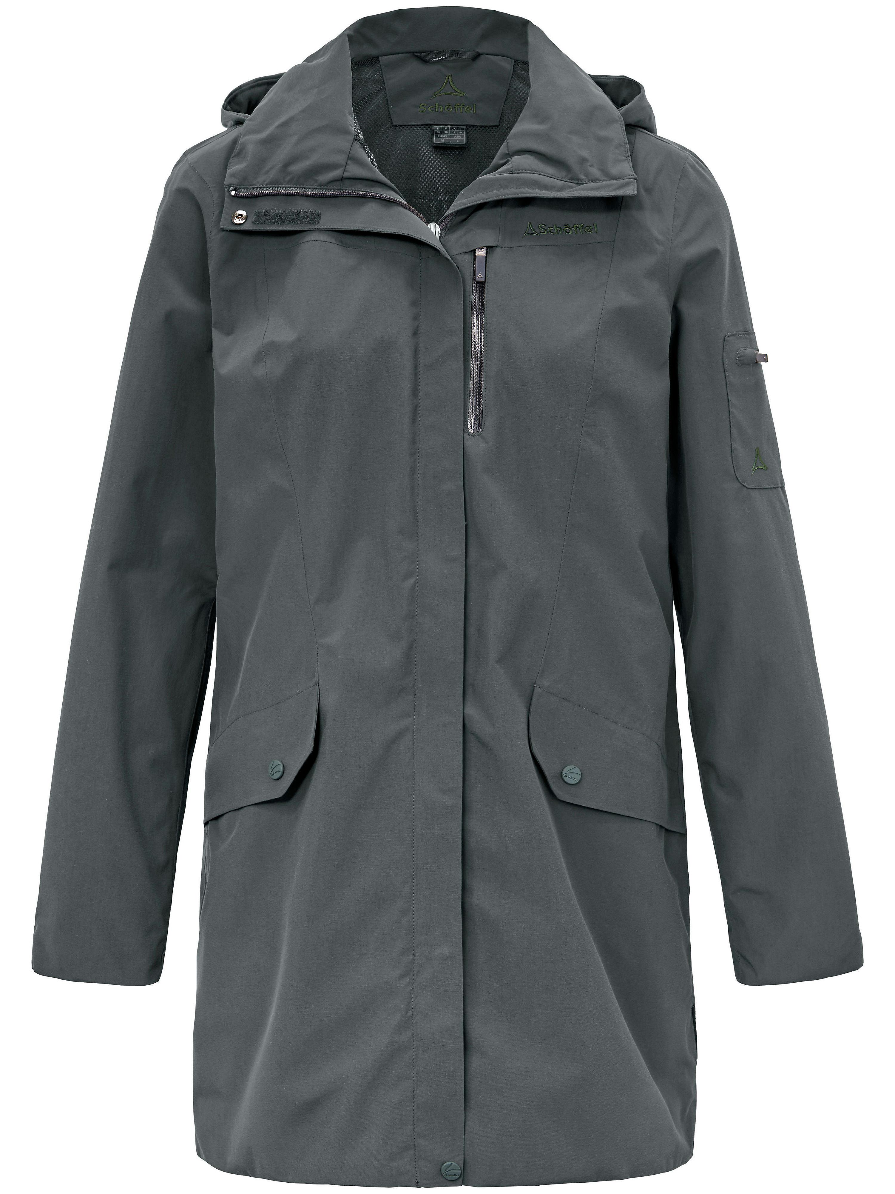 Image of   Lang Venturi-jakke, model Shanghai Fra Schöffel grøn