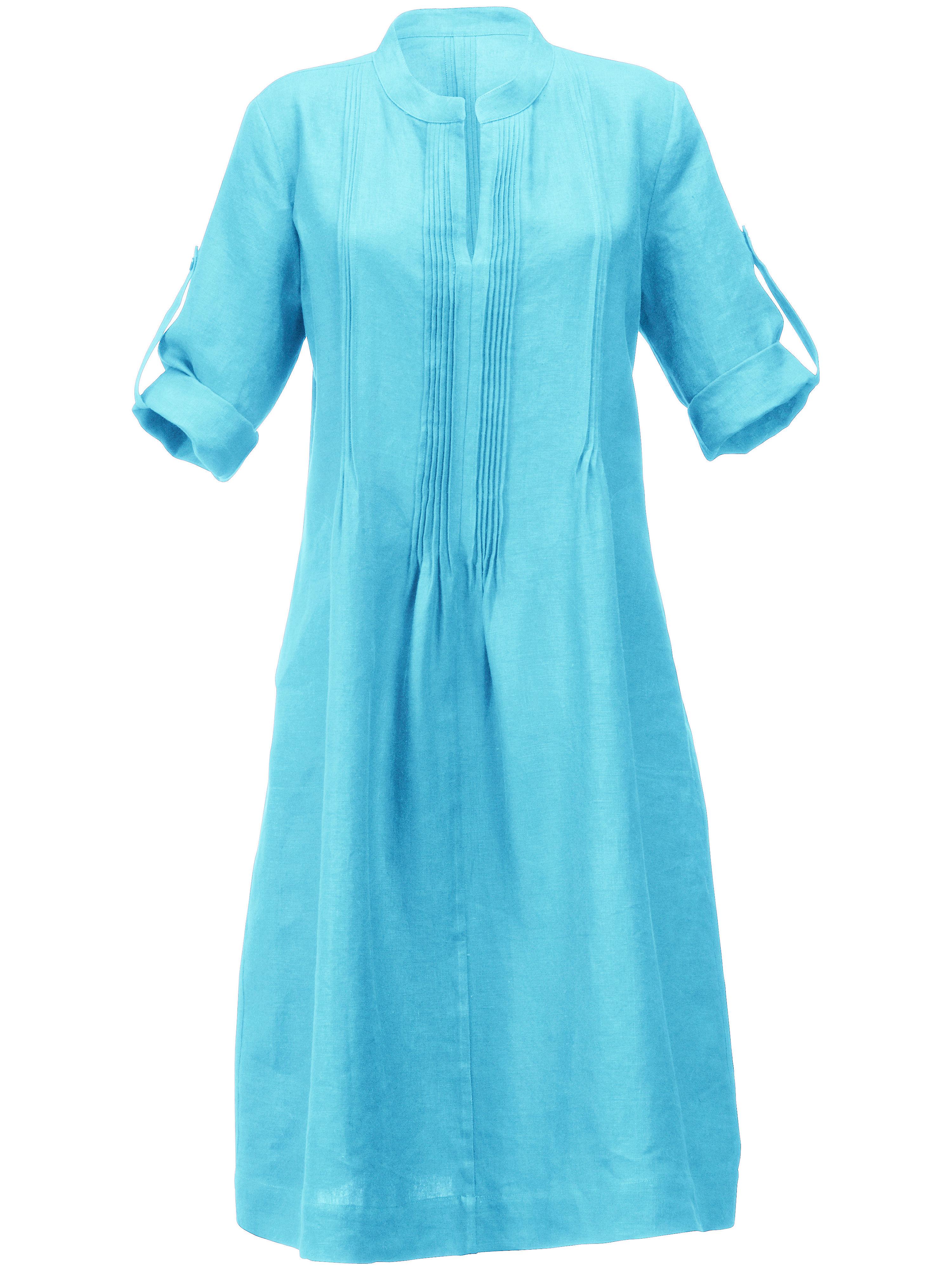 Anna Aura jurk turquoise