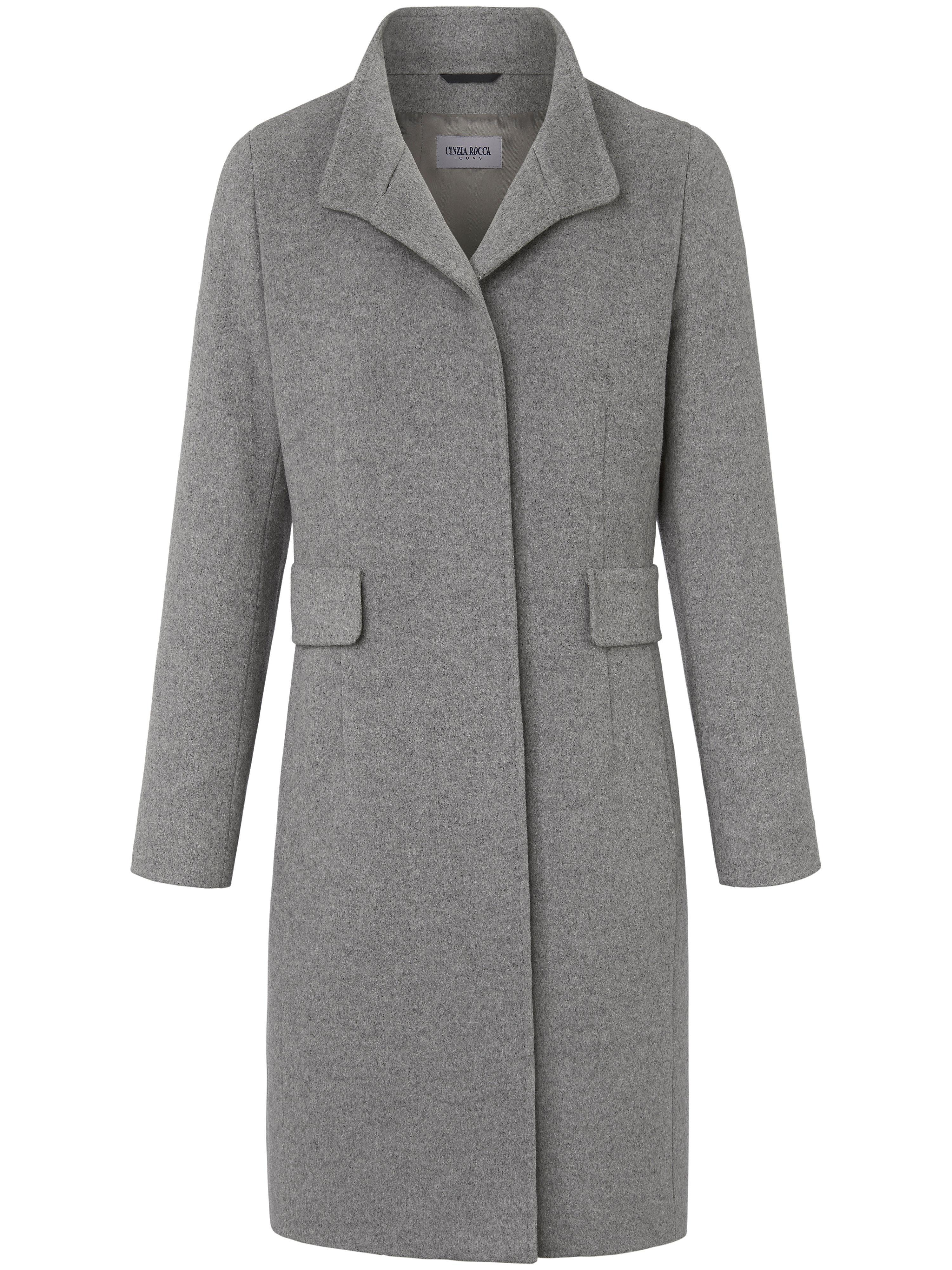 Le manteau  Cinzia Rocca Icons gris