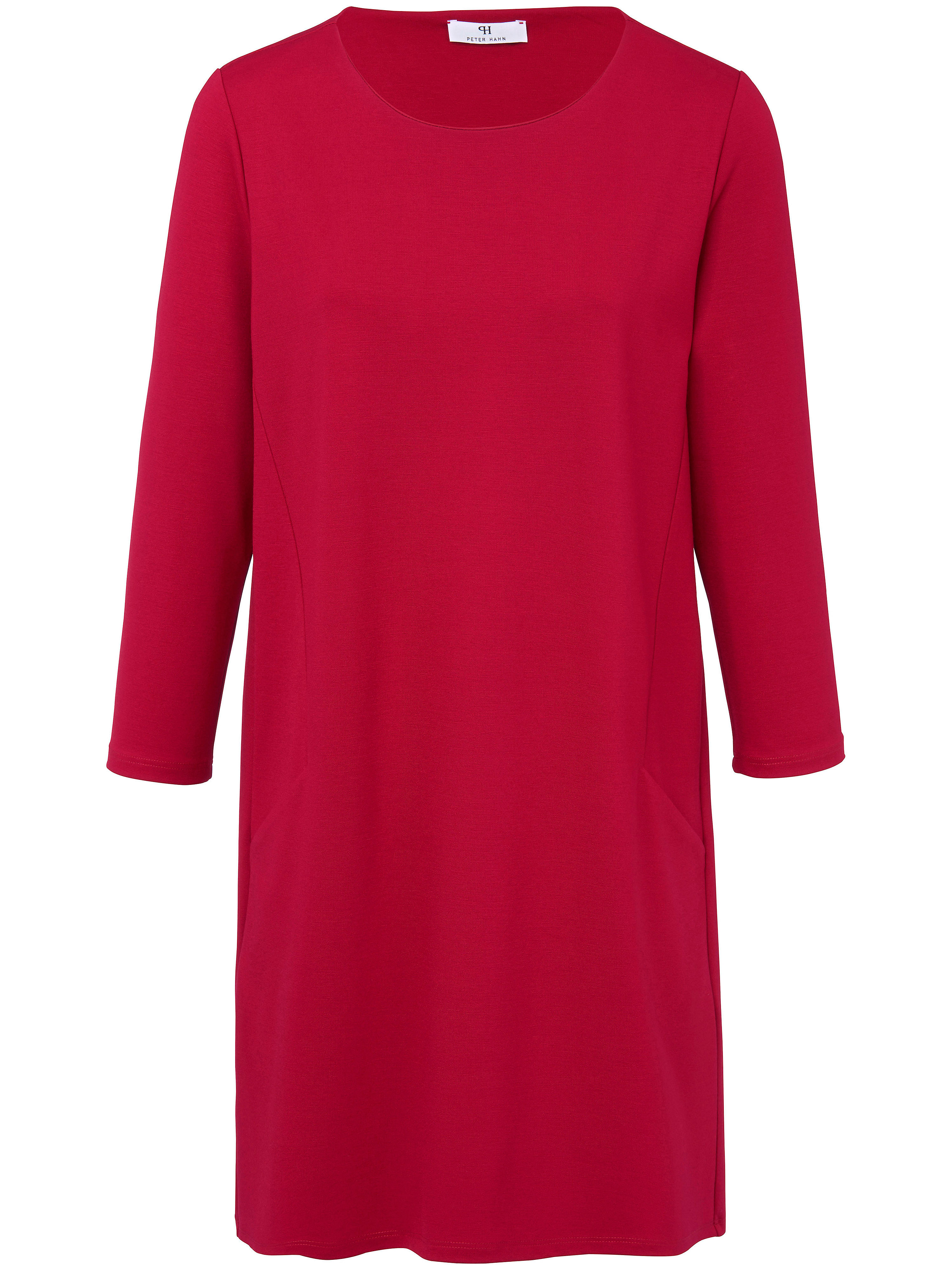 La robe jersey manches 7/8  Peter Hahn rouge taille 40