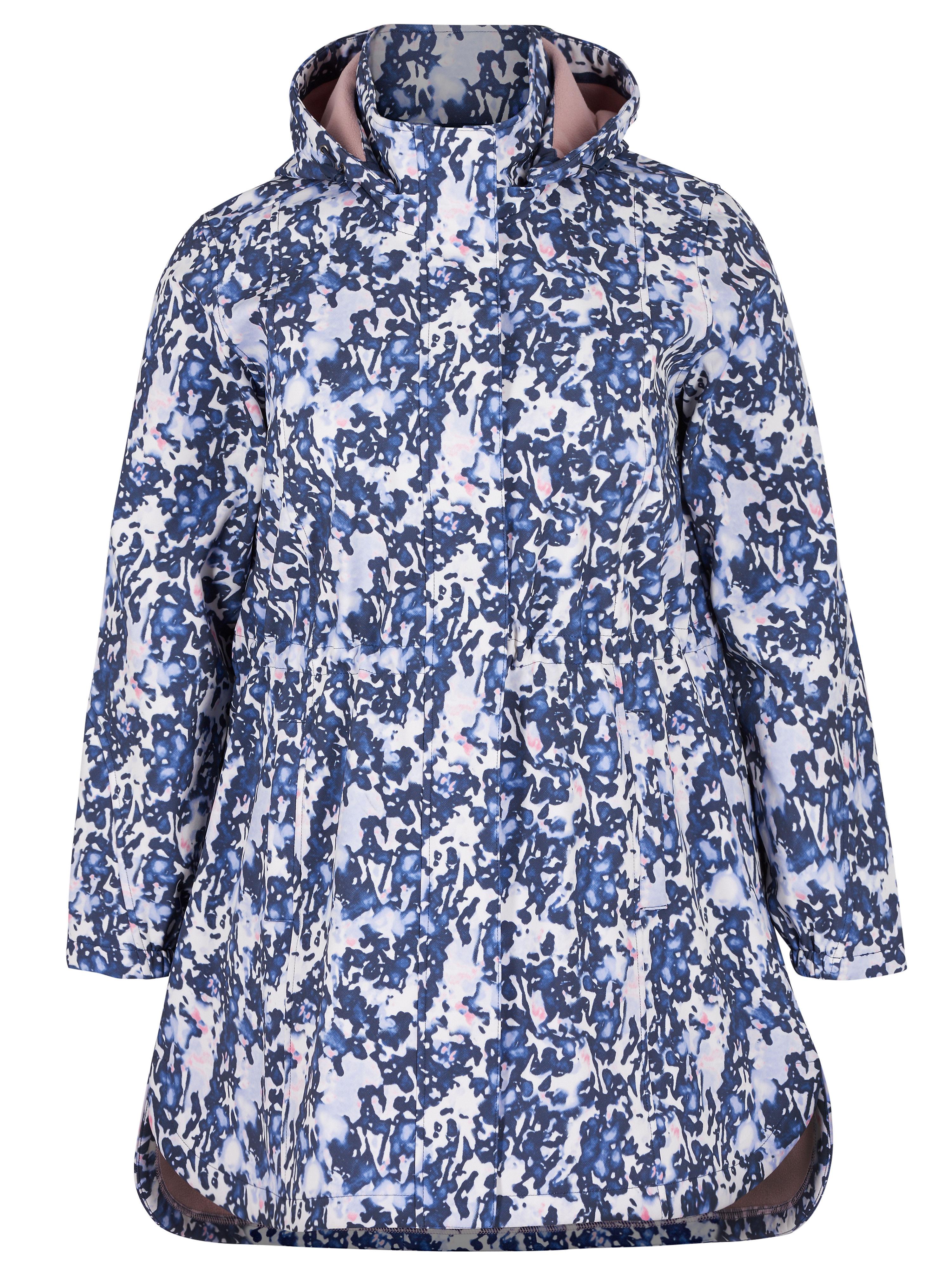 Softshell Jacket Van zizzi blauw
