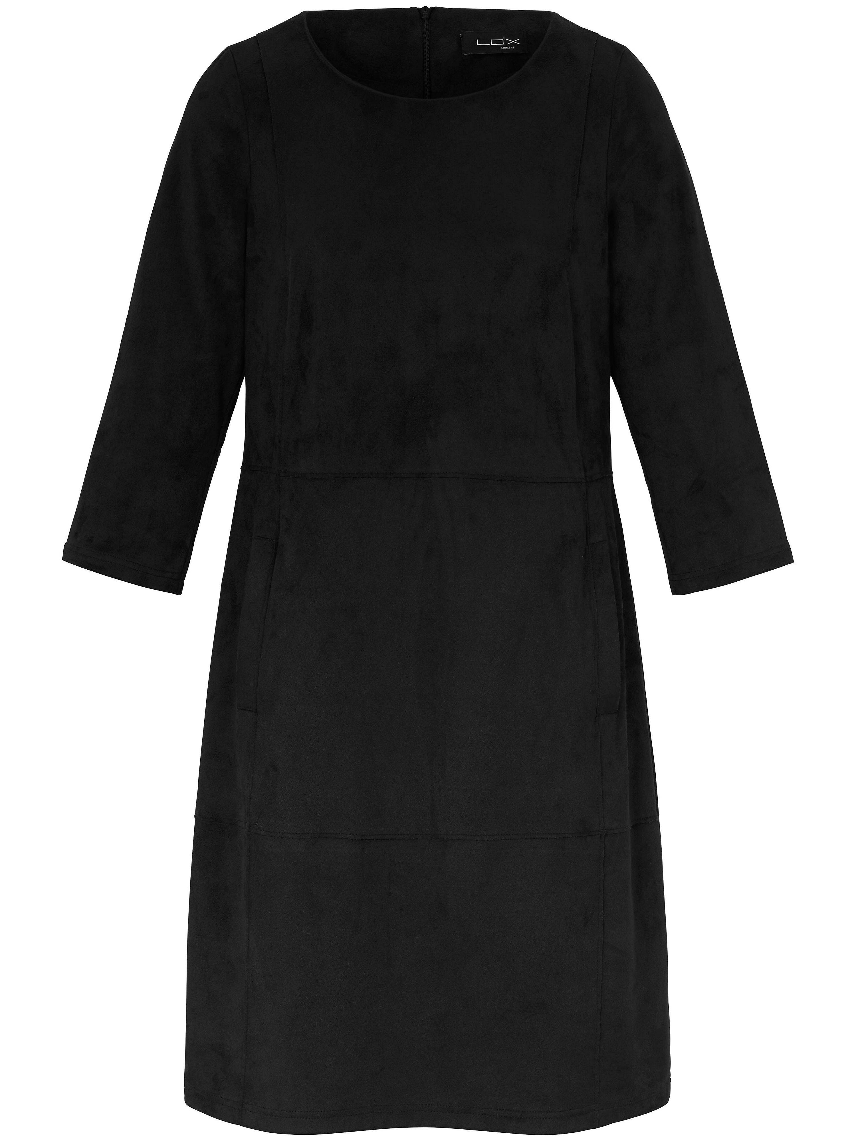 Looxent jurk van imitatiesuède zwart