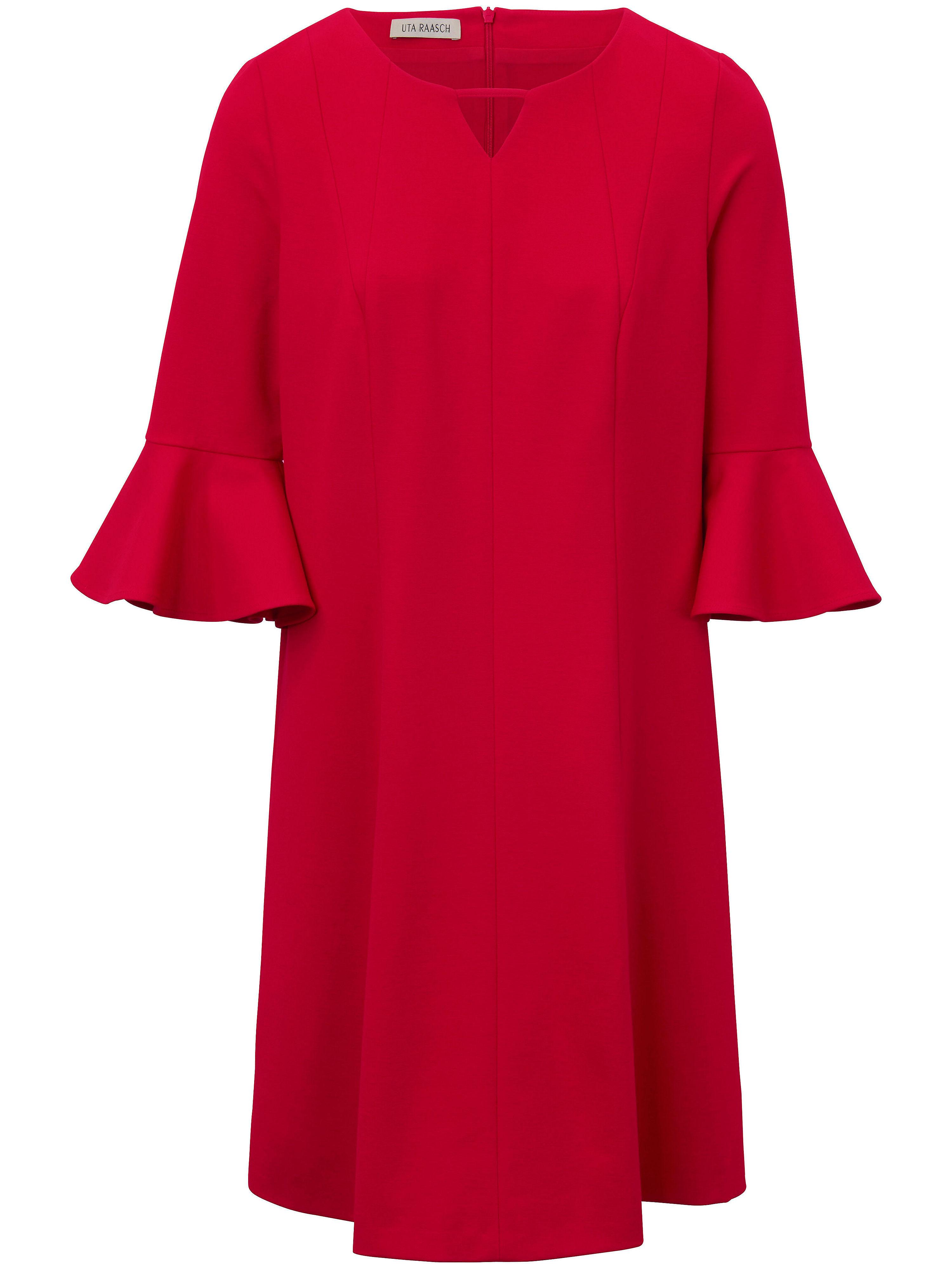 Uta Raasch jerseyjurk met 3/4-mouwen rood