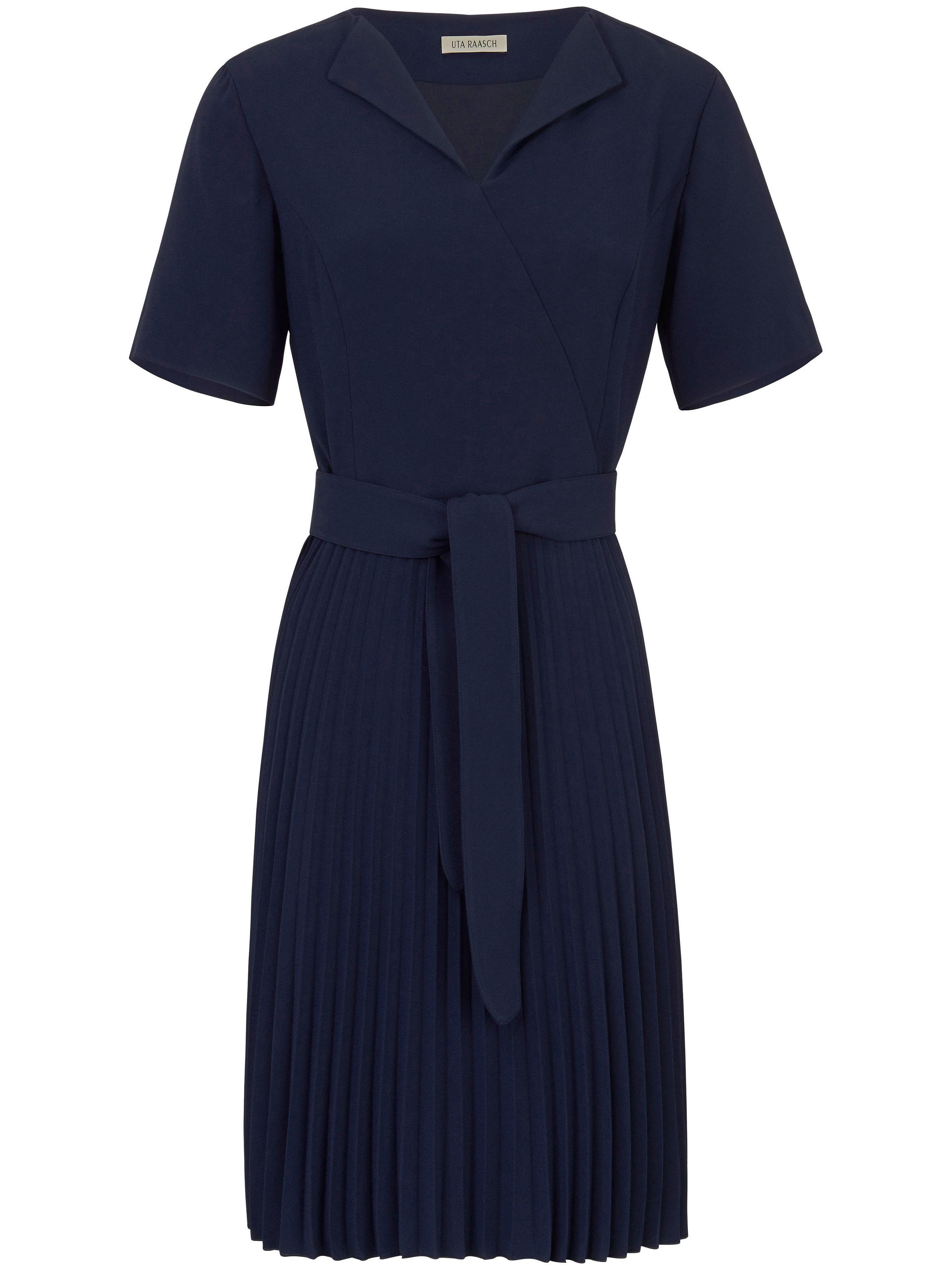 Uta Raasch jurk met 3/4-mouwen blauw