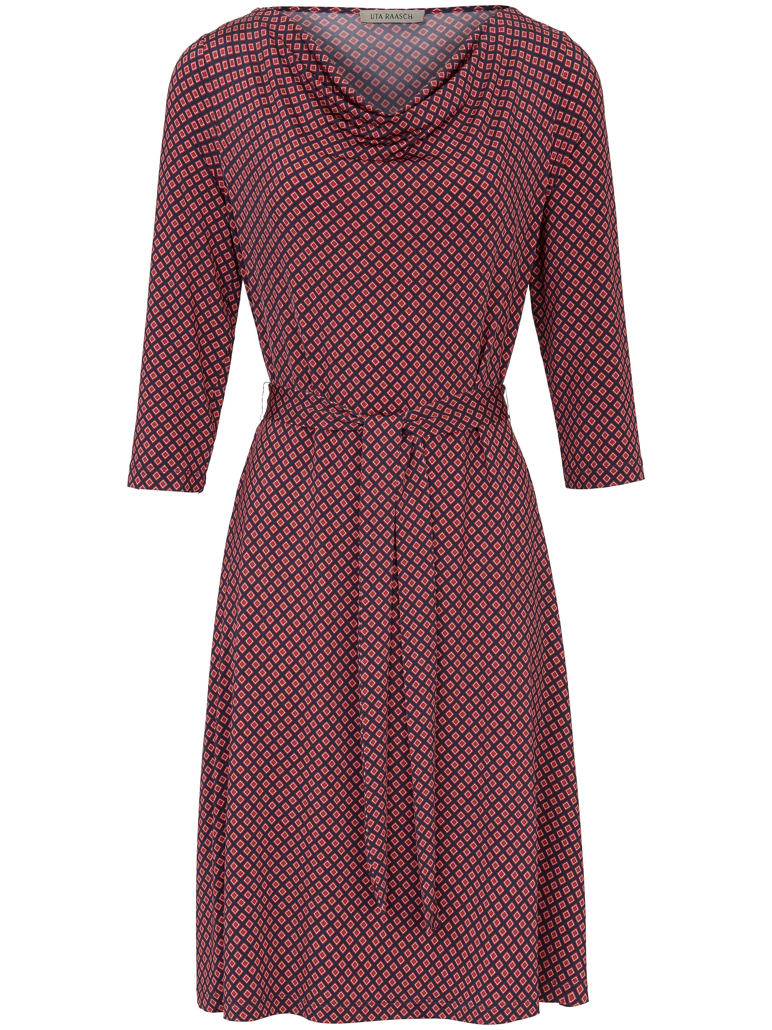 Image of   Jersey-kjole flot grafisk print Fra Uta Raasch multicolor