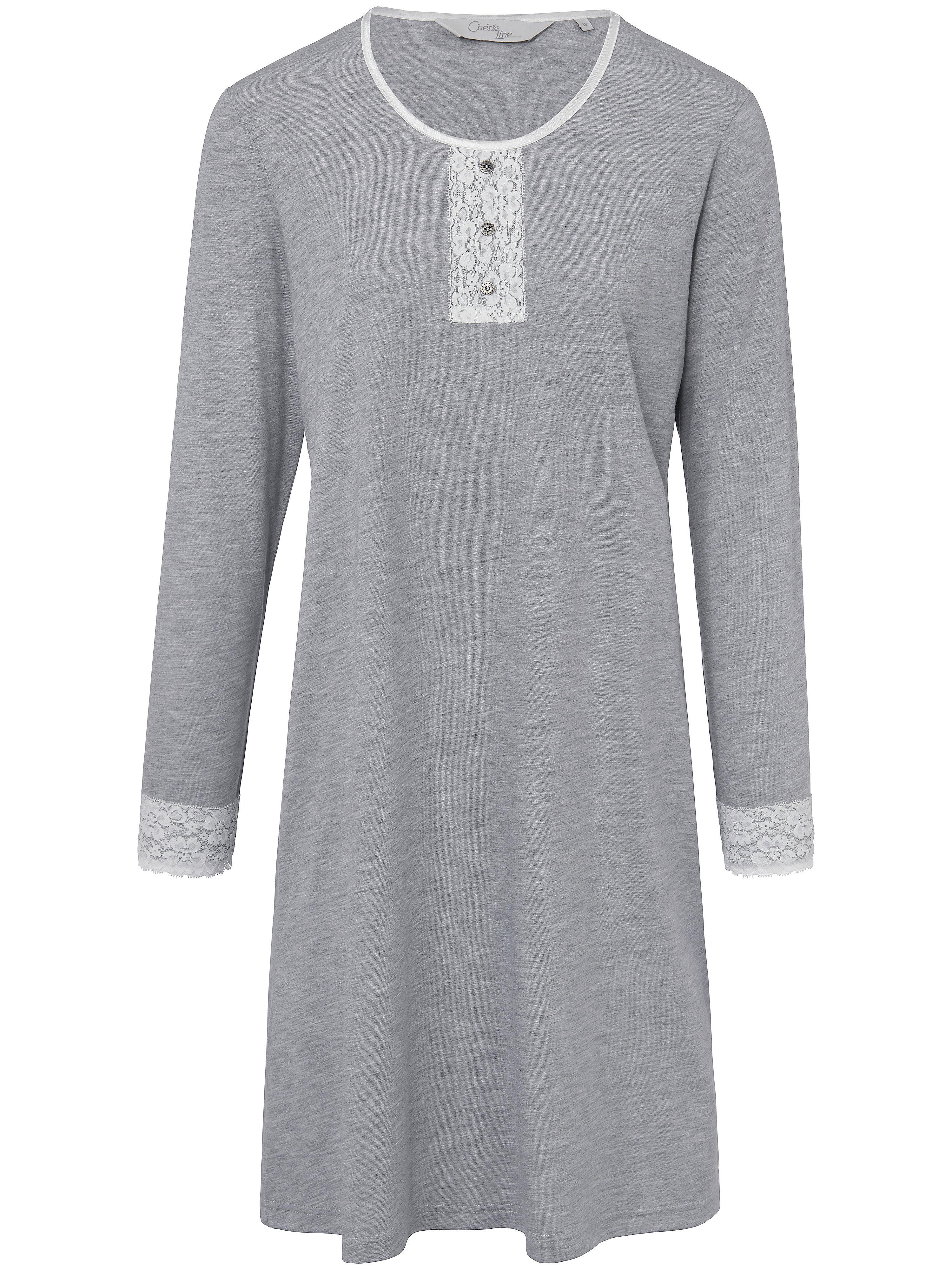 La chemise nuit  Cherie Line gris