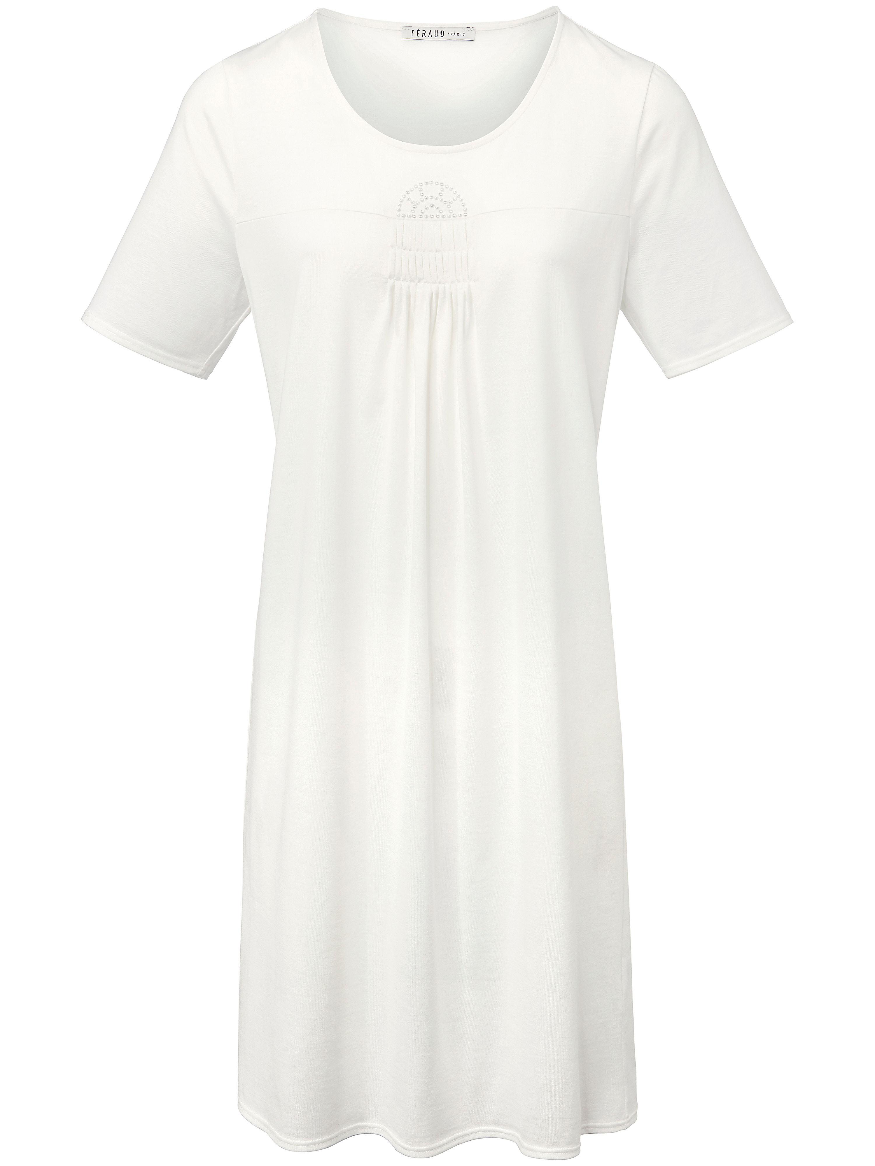 La chemise nuit manches courtes  Féraud beige