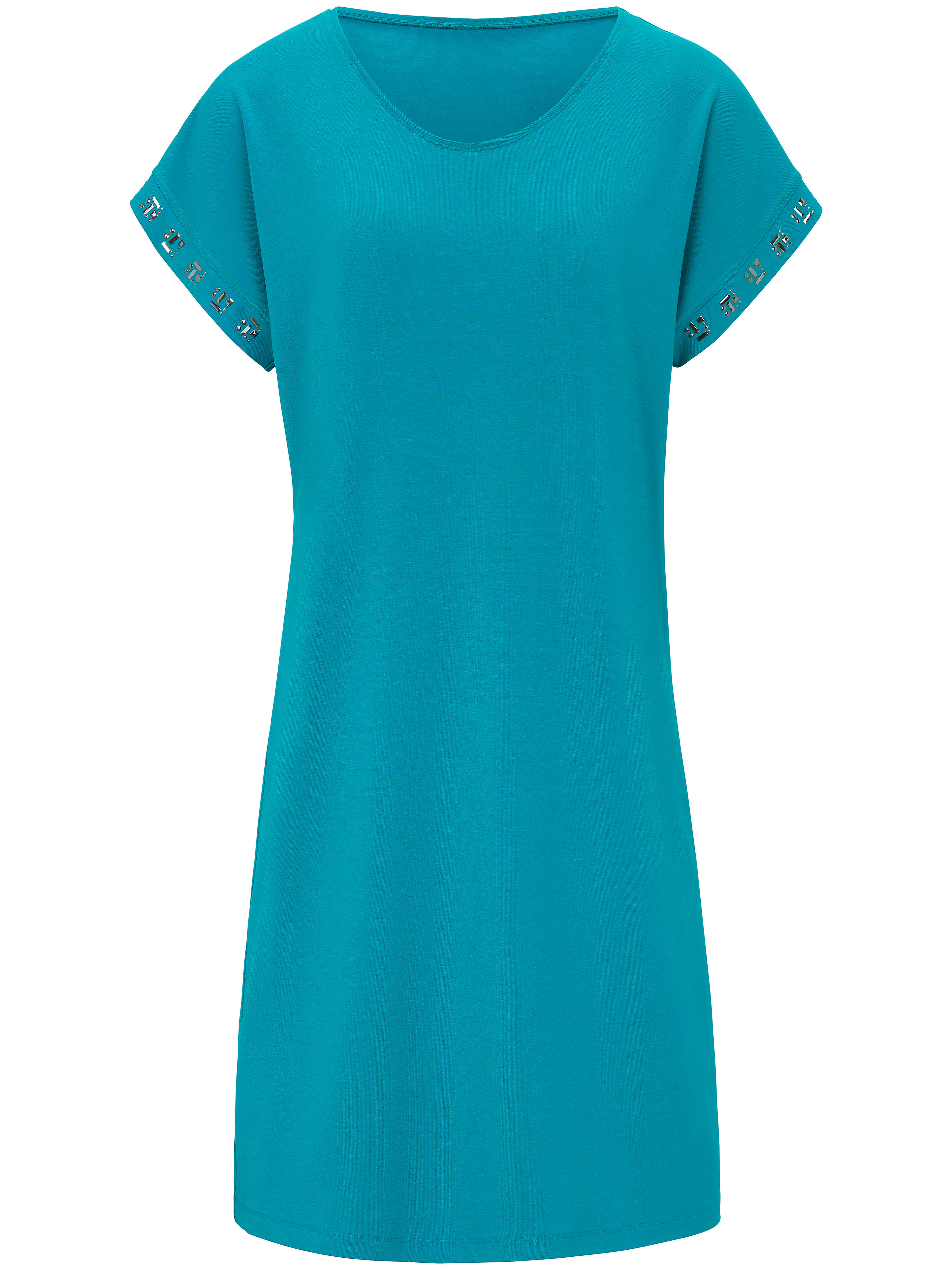 La robe  Peter Hahn turquoise taille 48