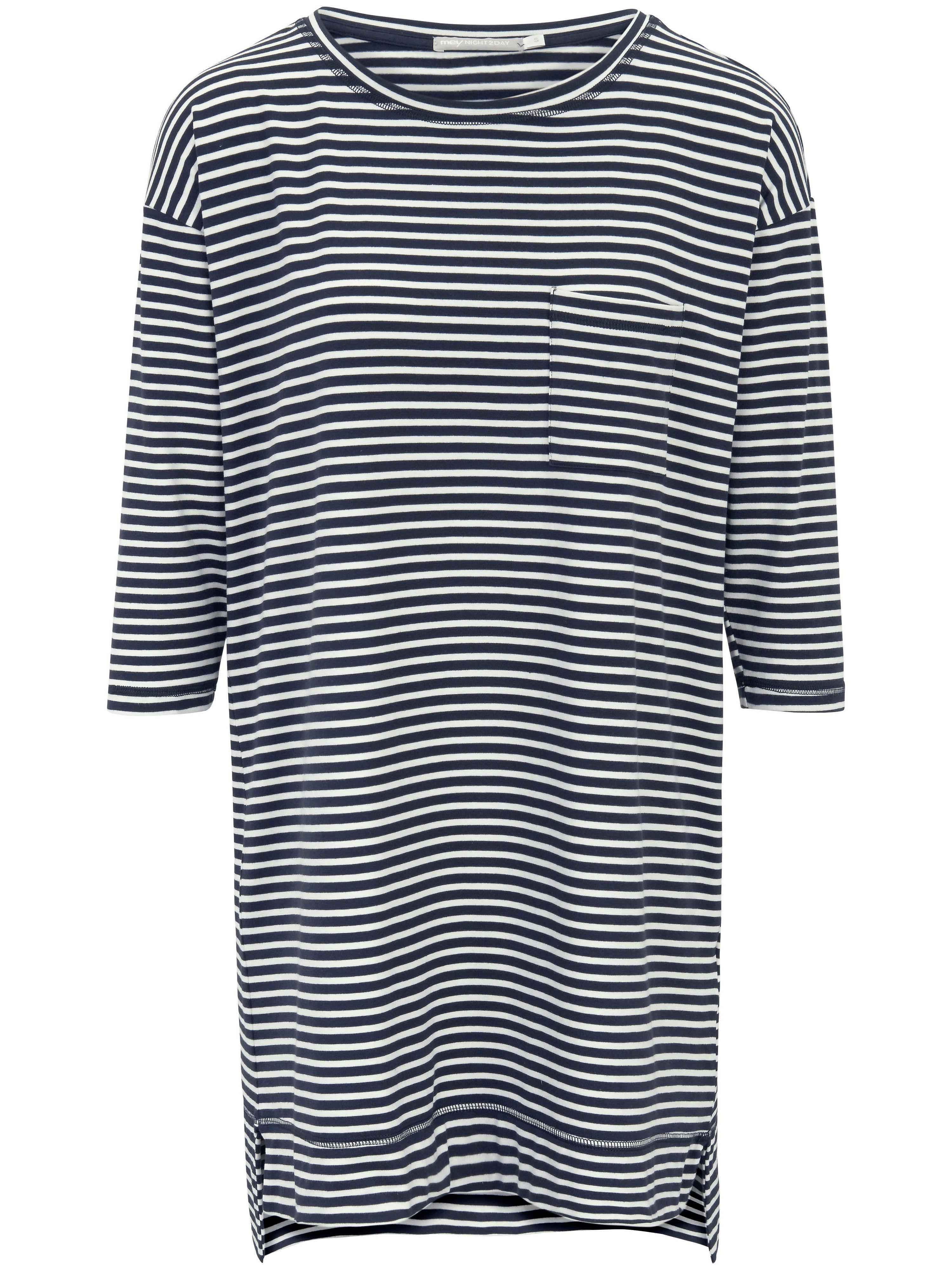 La chemise nuit esprit sport, manches 3/4  Mey multicolore taille 48
