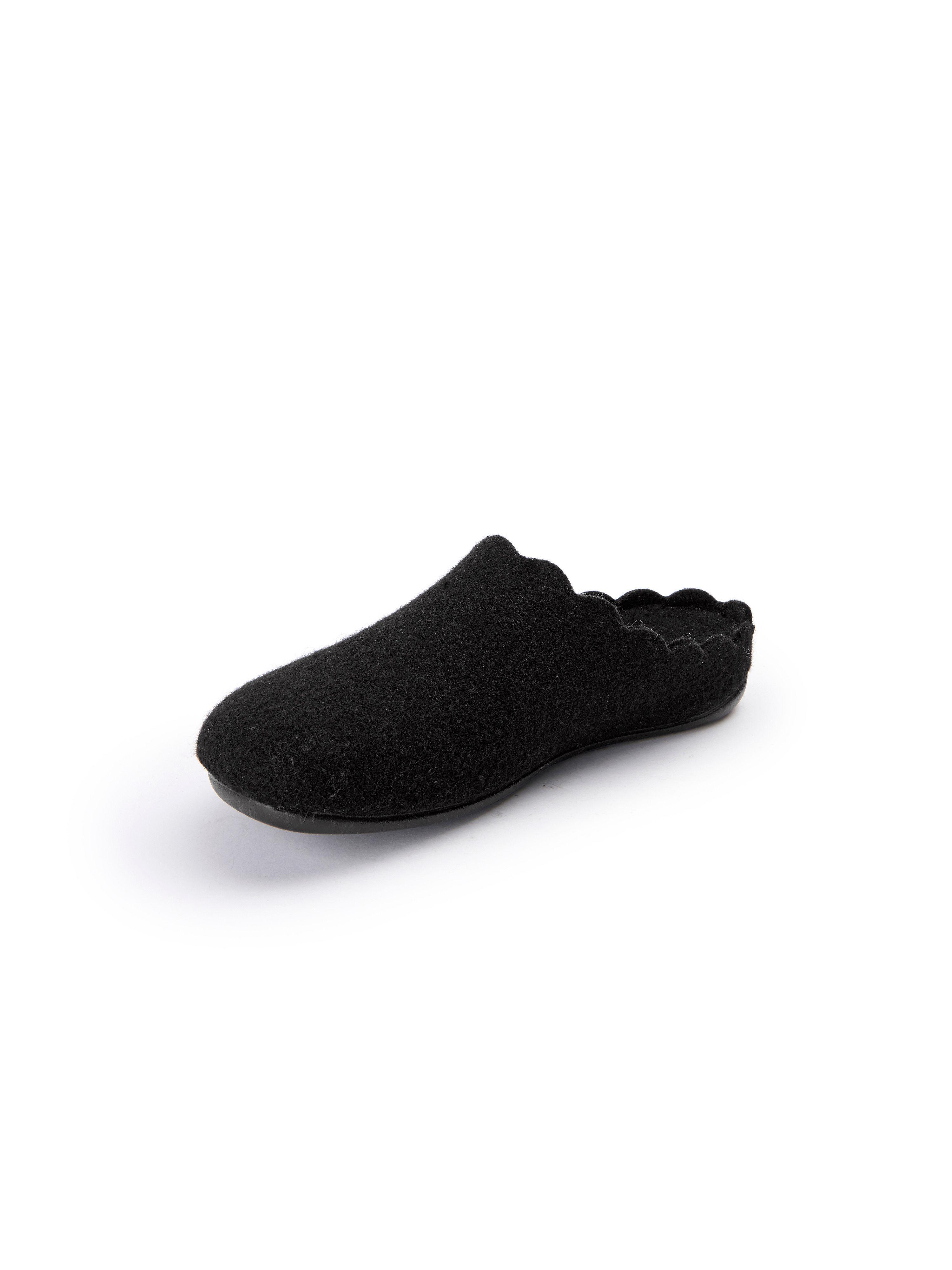 Pantoffels Van Shepherd zwart
