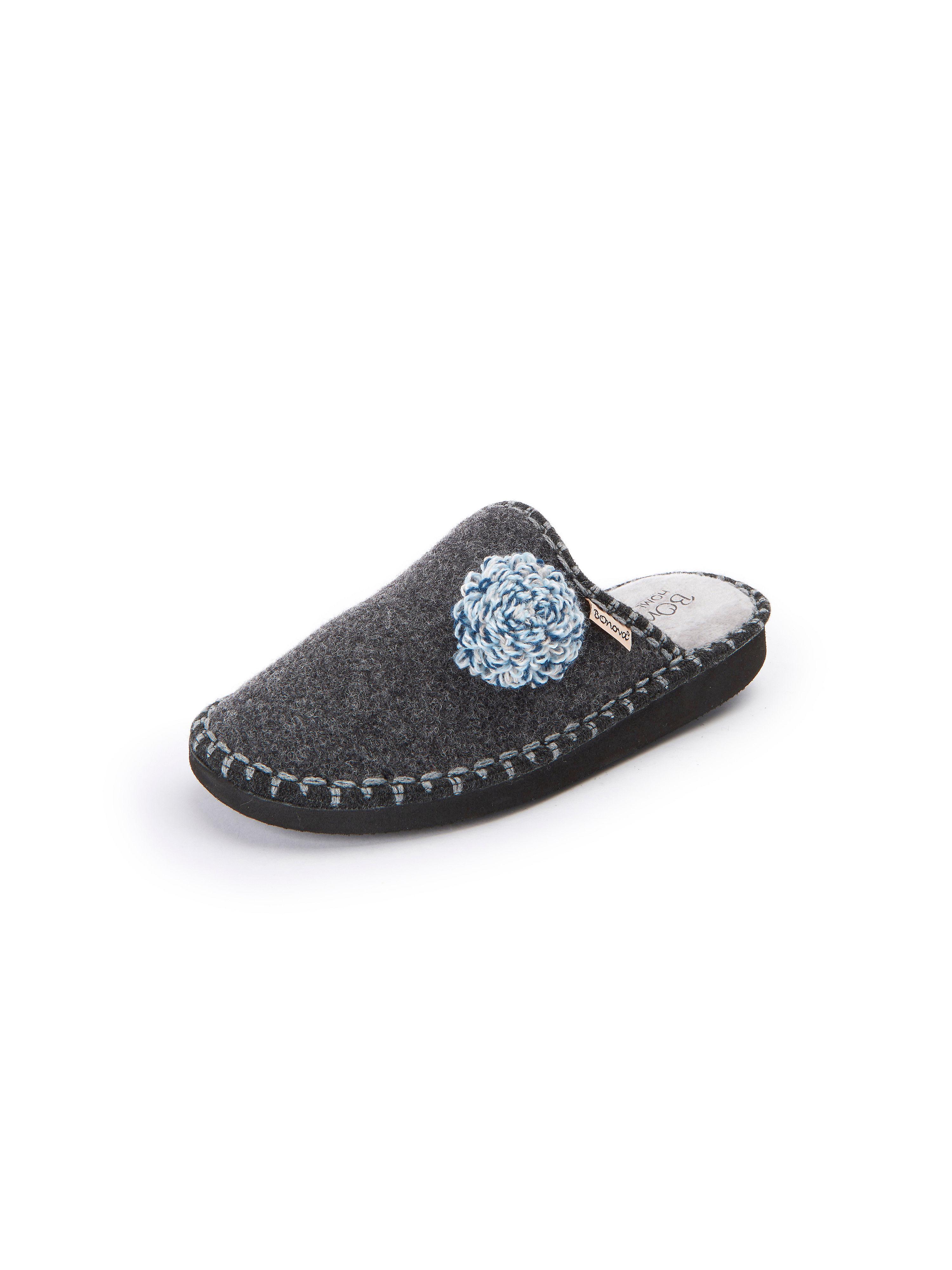 Pantoffels Van BOnova grijs