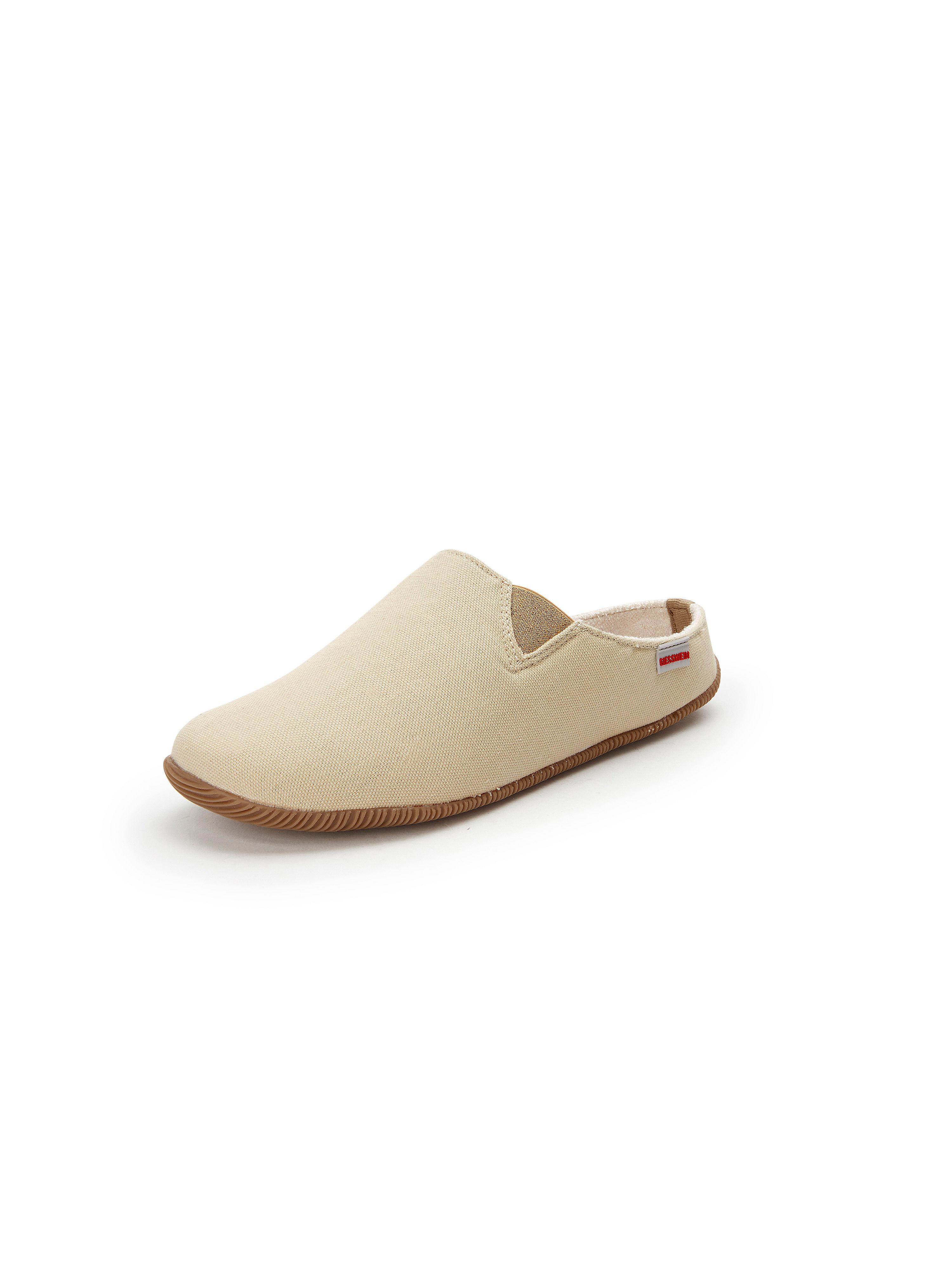 Pantoffels Van Giesswein beige