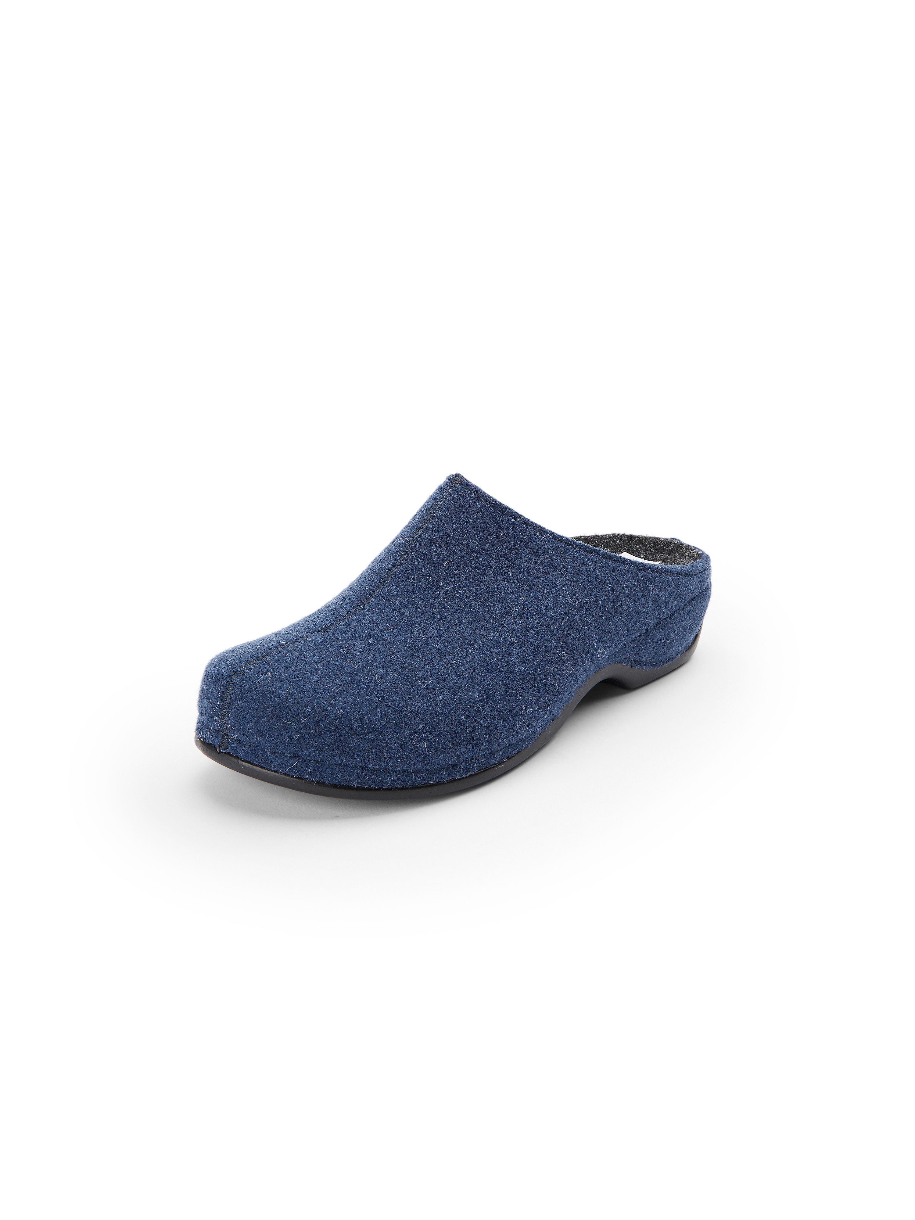 Pantoffels, model Florina Van Berkemann Original blauw
