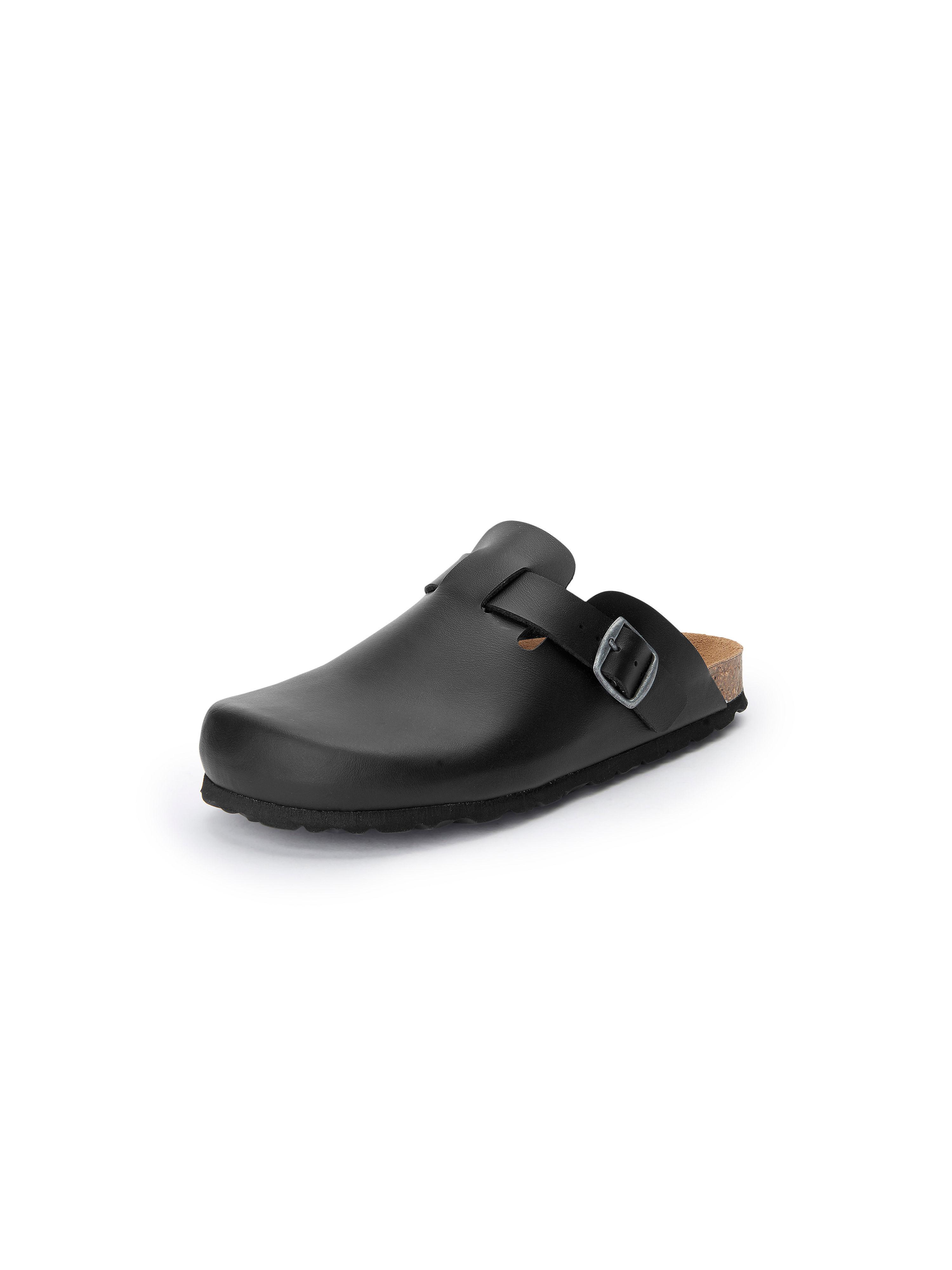 Pantoffels Van Peter Hahn zwart