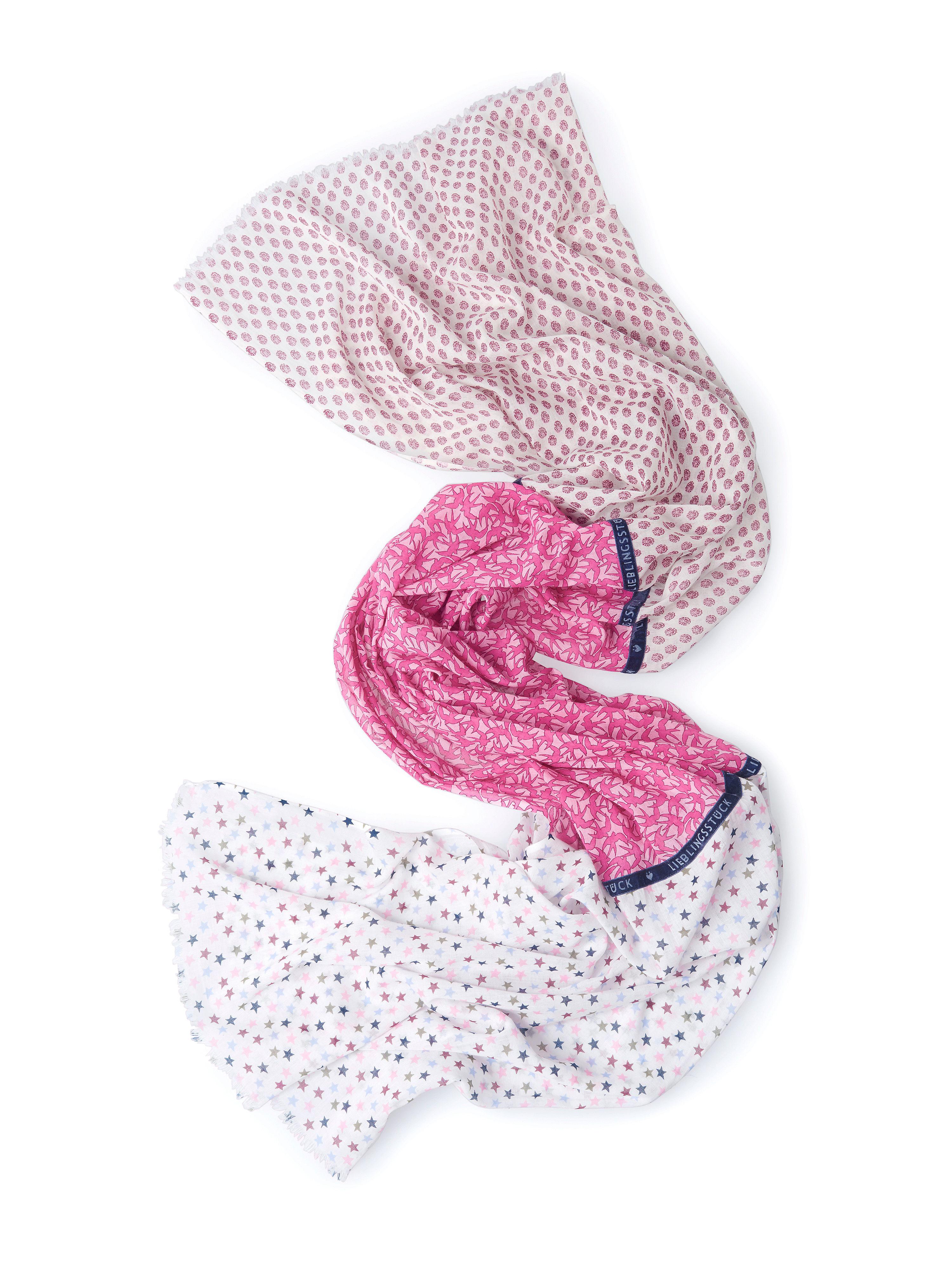 Image of   Tørklæde Fra LIEBLINGSSTÜCK pink