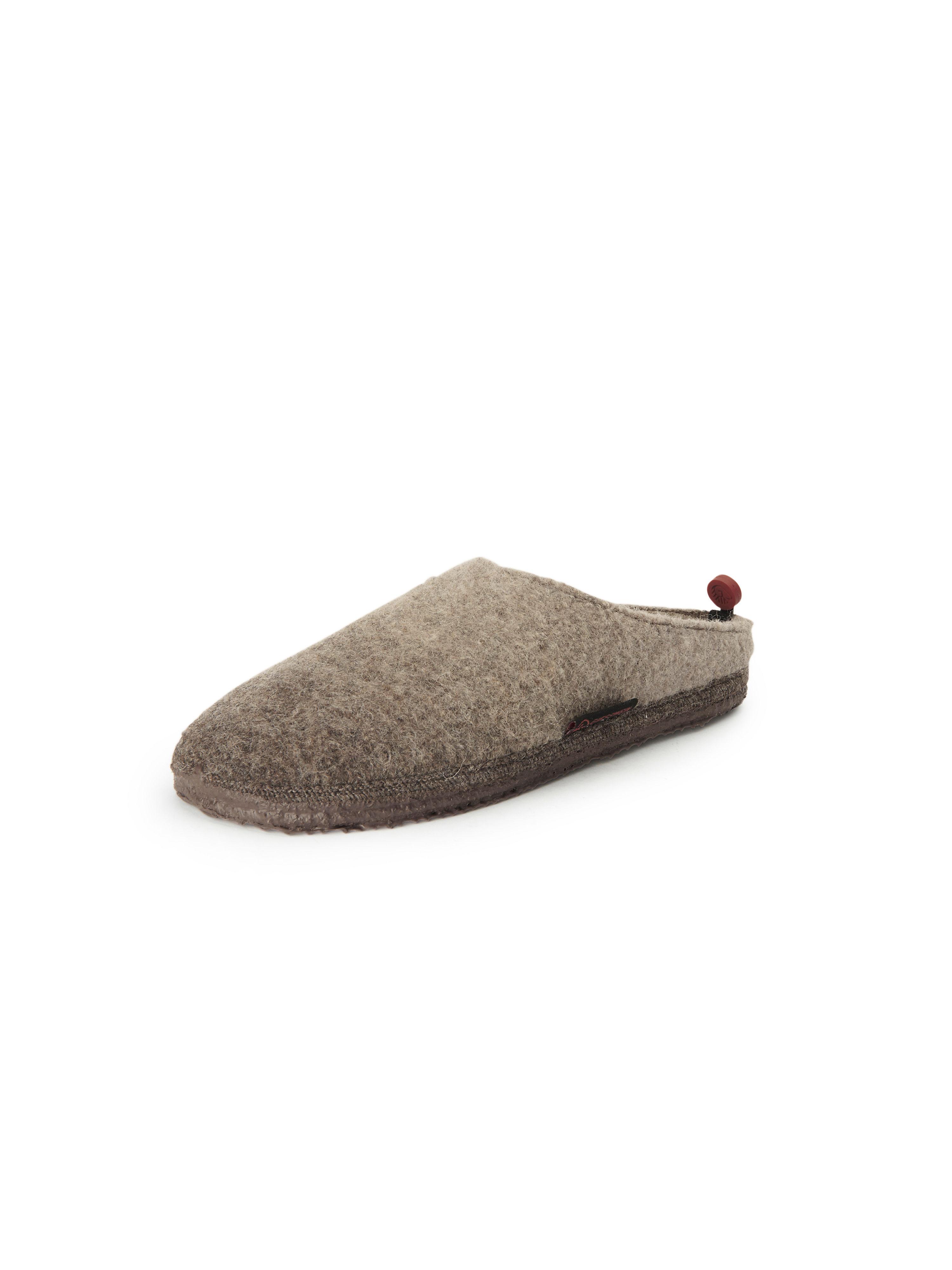 Pantoffels, model Naurath Van Giesswein beige