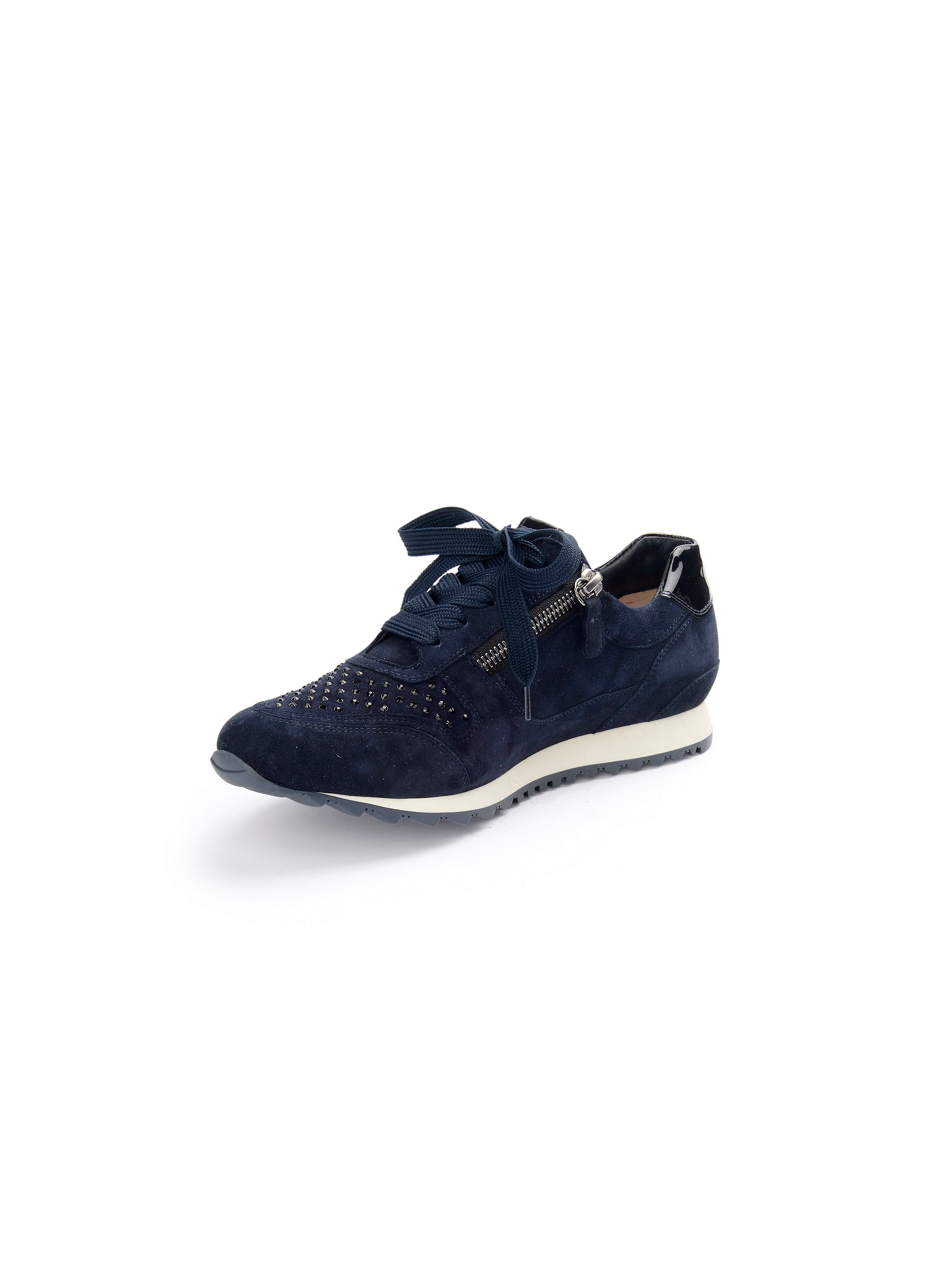 Sneaker Barcelona H aus 100% Leder Hassia blau