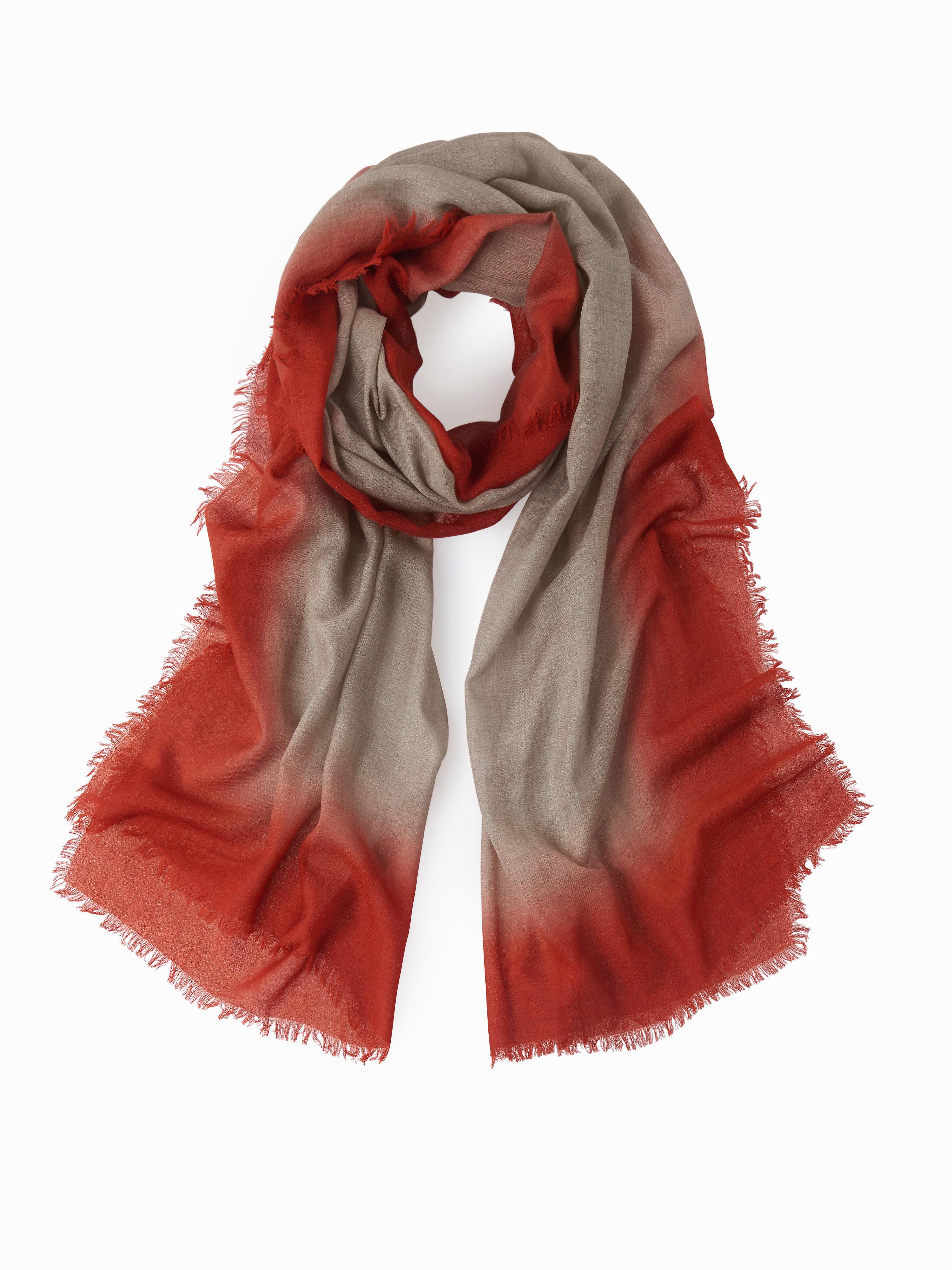 Image of   Tørklæde i 100% ren ny uld Fra Peter Hahn brun