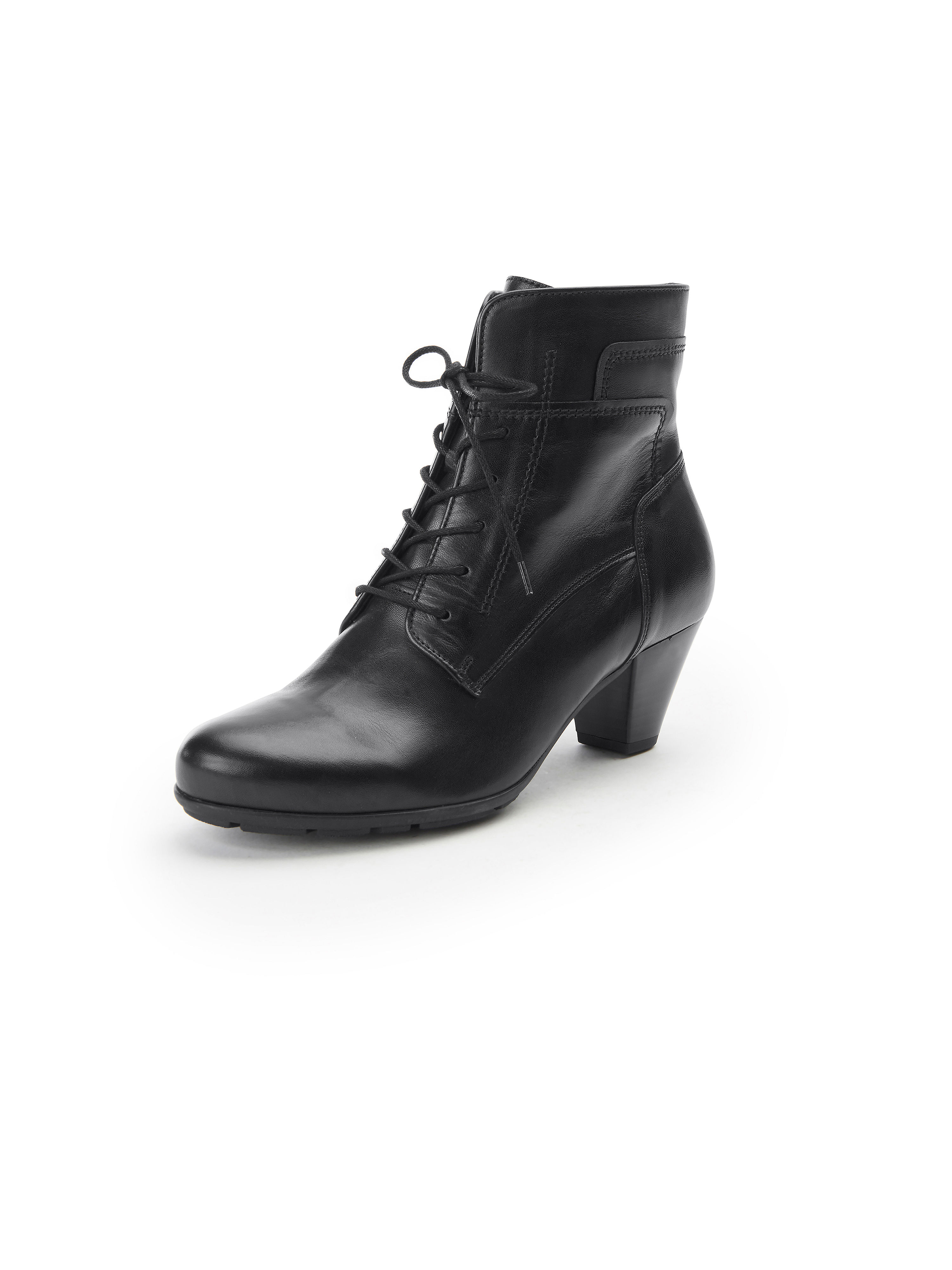 Les bottines cuir nappa  Gabor noir taille 38