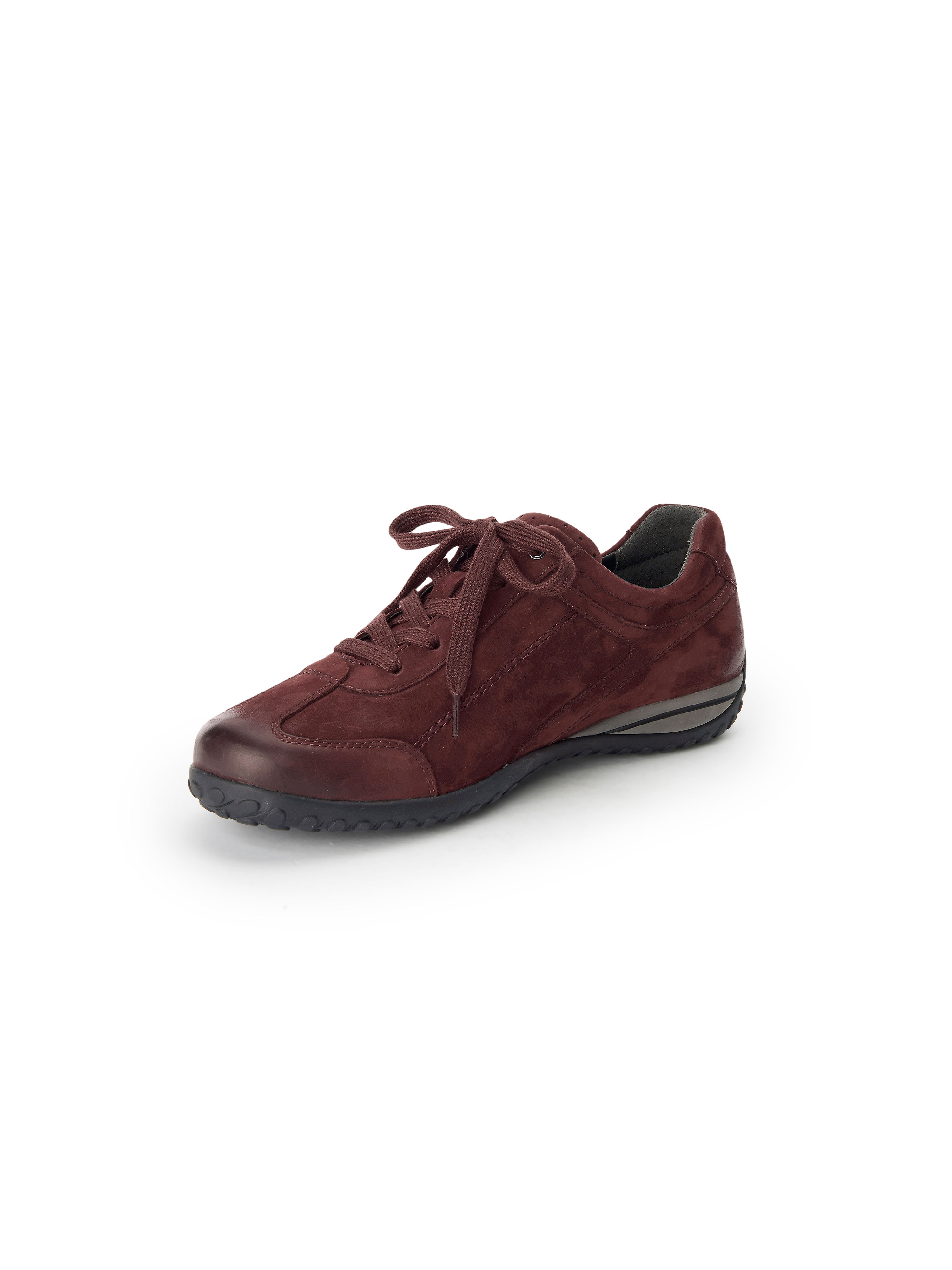 Les sneakers cuir nubuck Gabor rouge taille 35