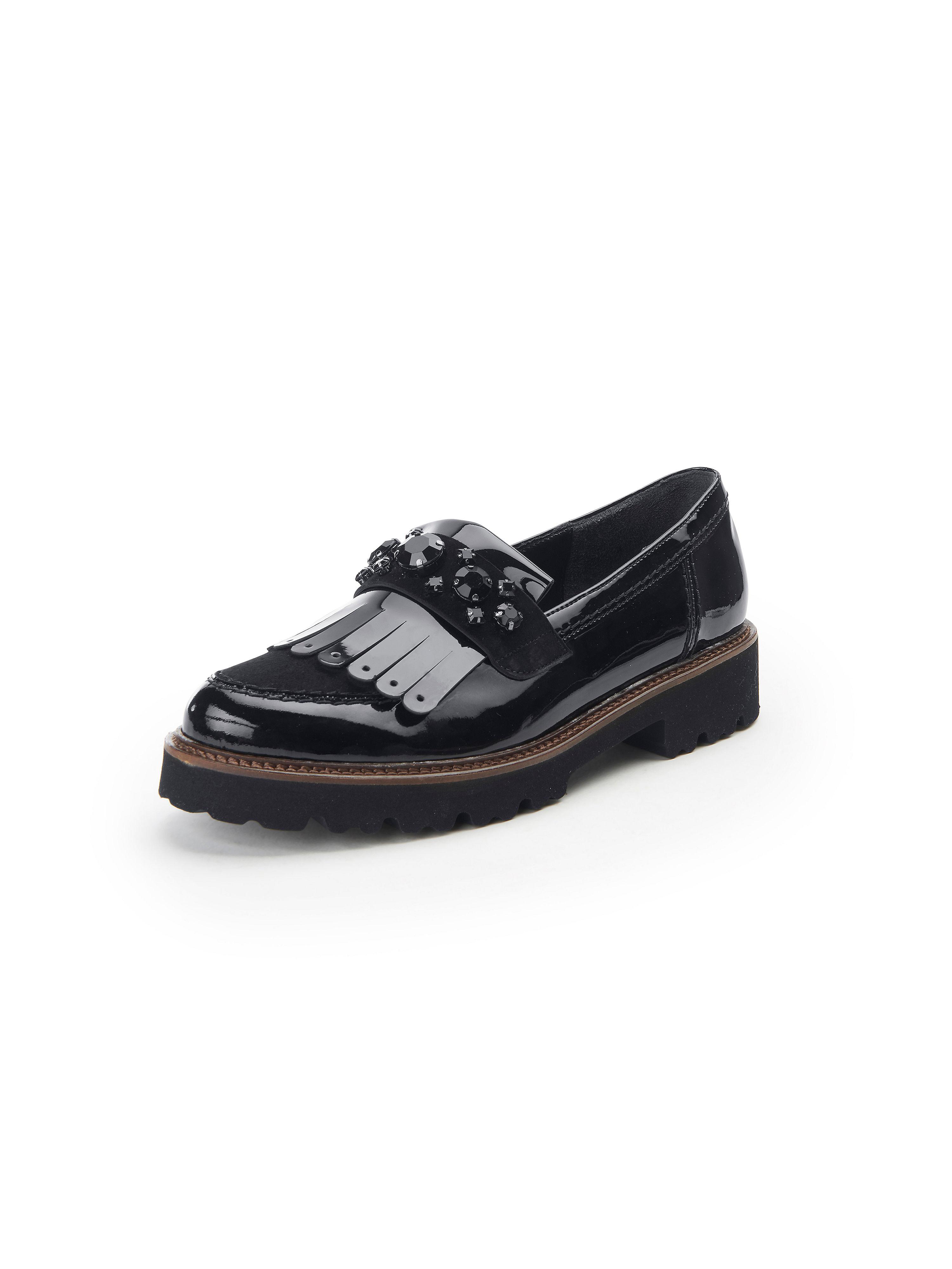 Les mocassins cuir  Gabor noir taille 37