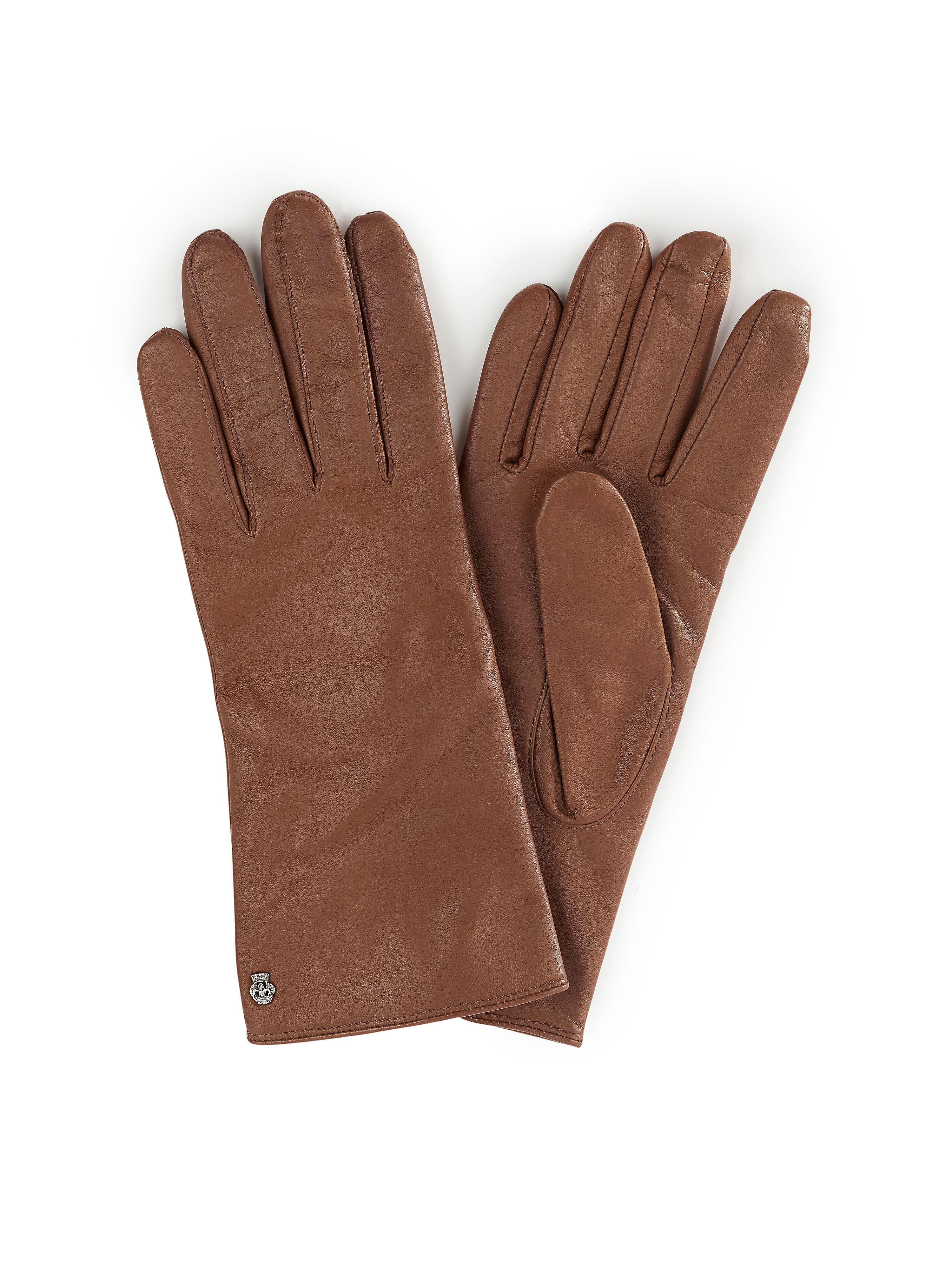 Image of   Handsker Fra Roeckl brun