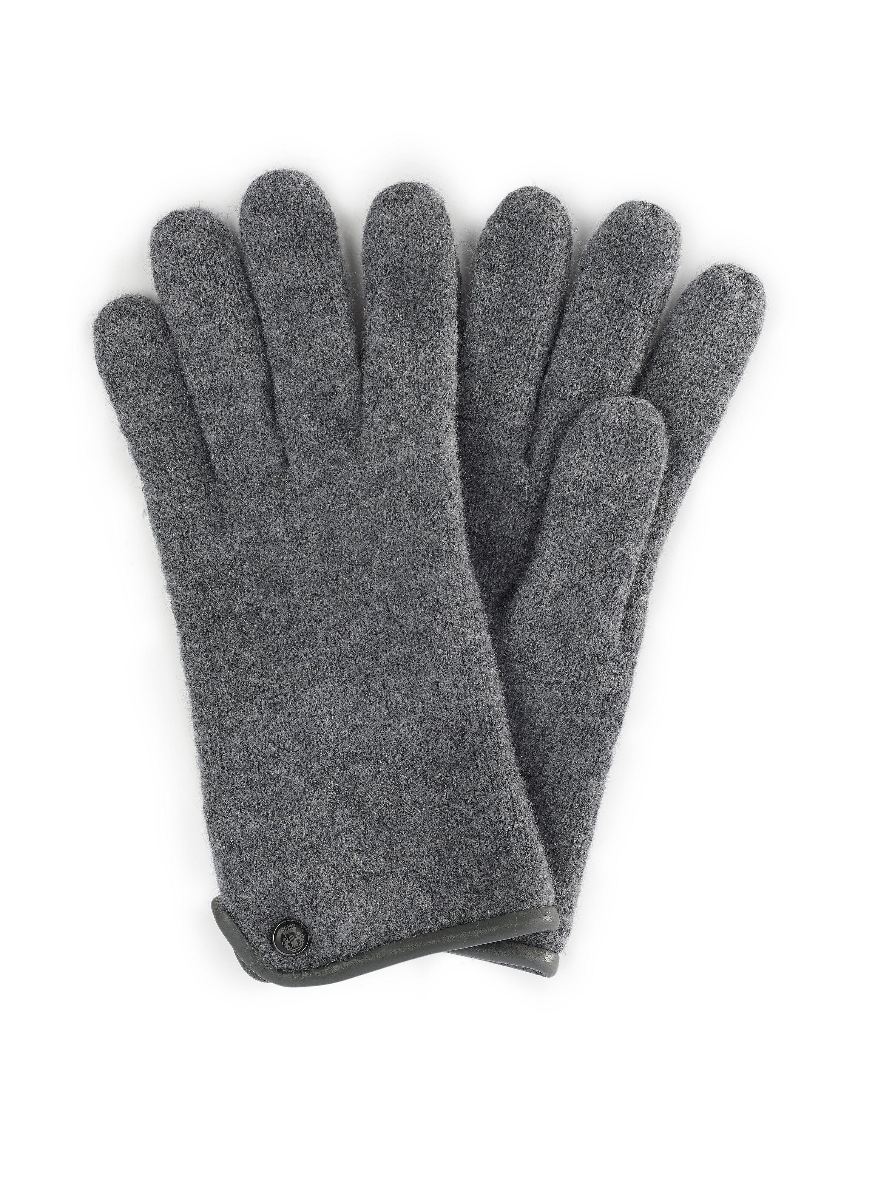 Image of   Handsker 100% ren ny uld Fra Roeckl grå