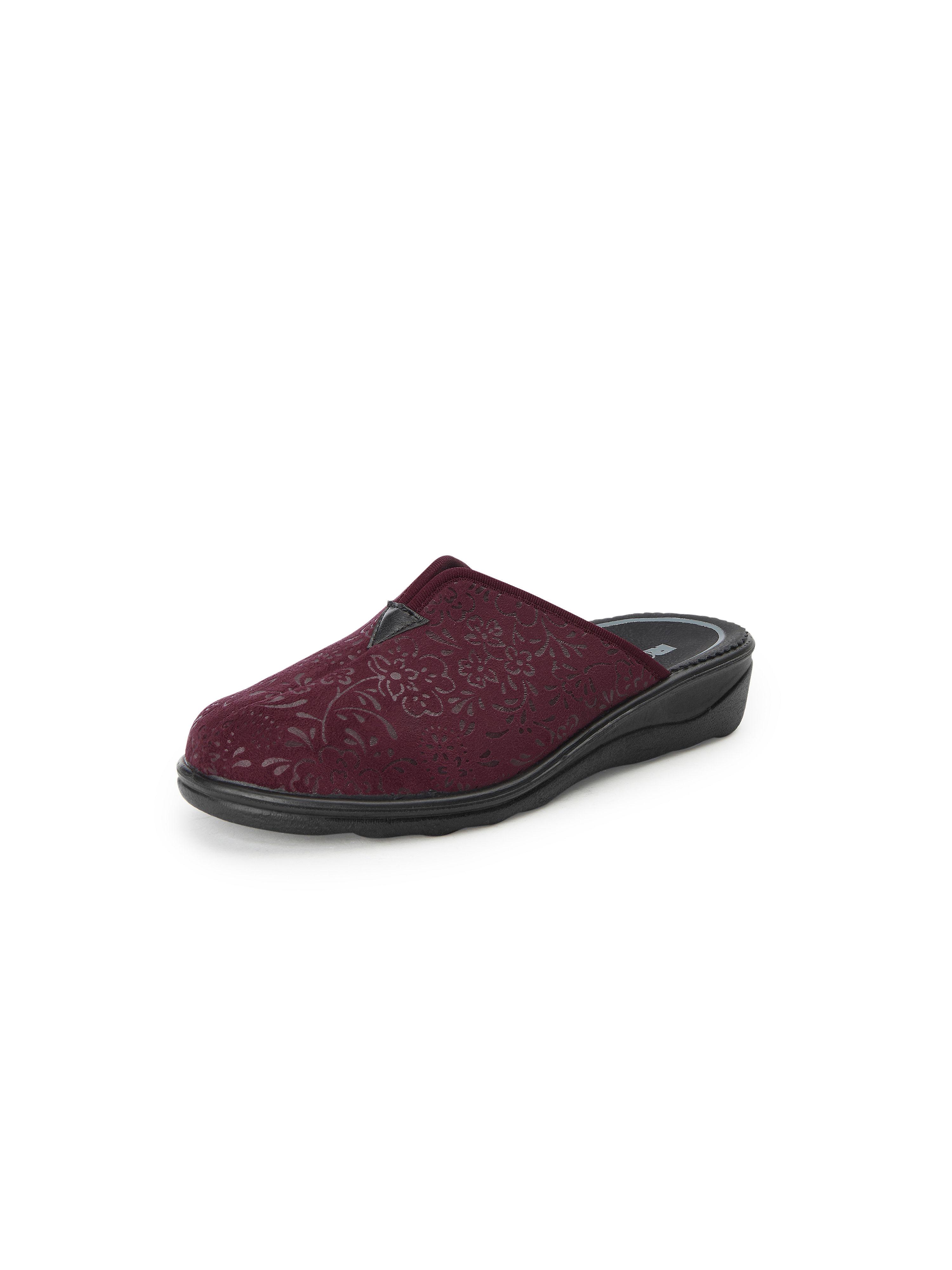 Pantoffels, model Romisana 82 Van Romika rood