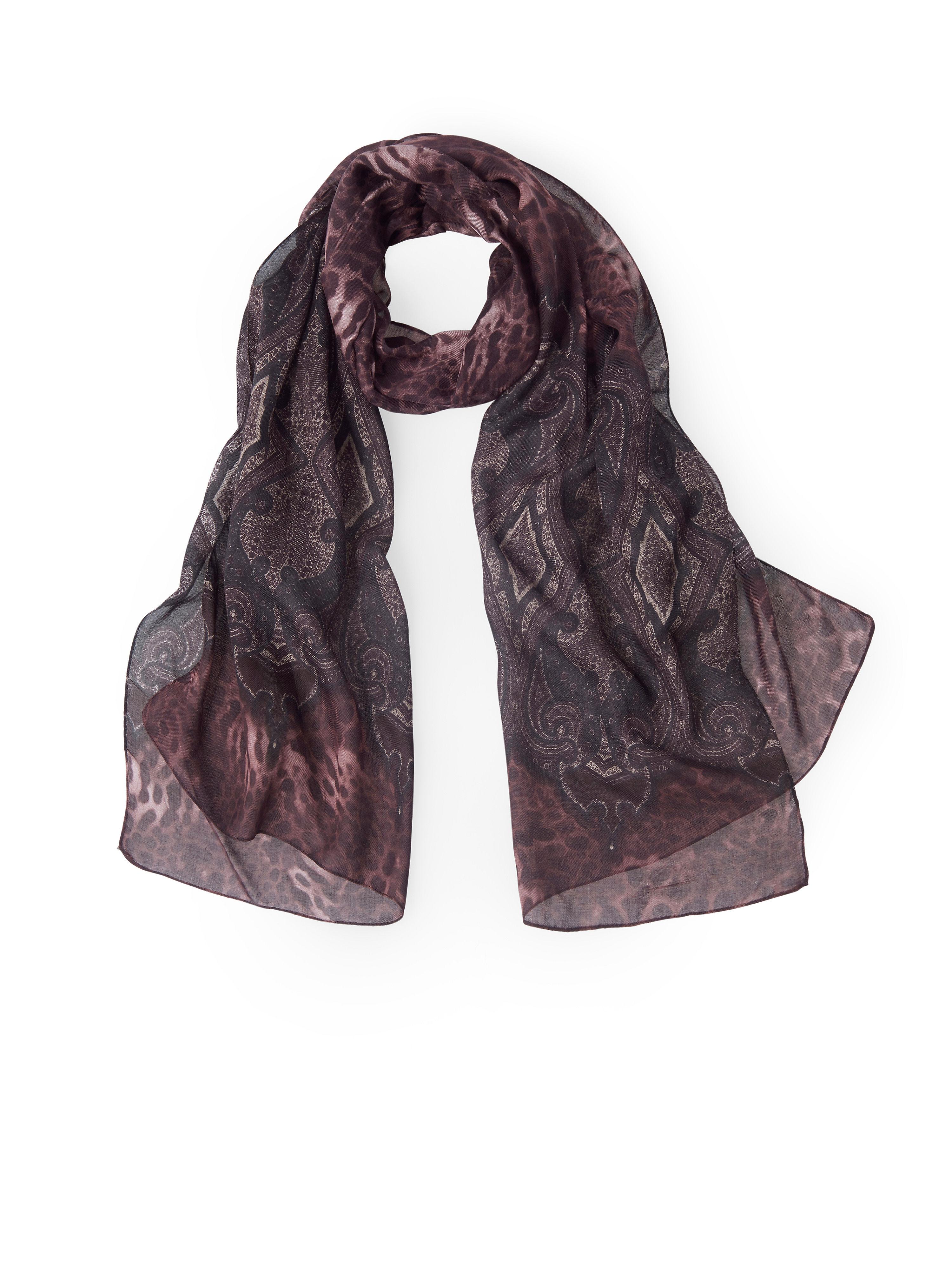 Image of   Tørklæde i elegant design Fra Anna Aura rød