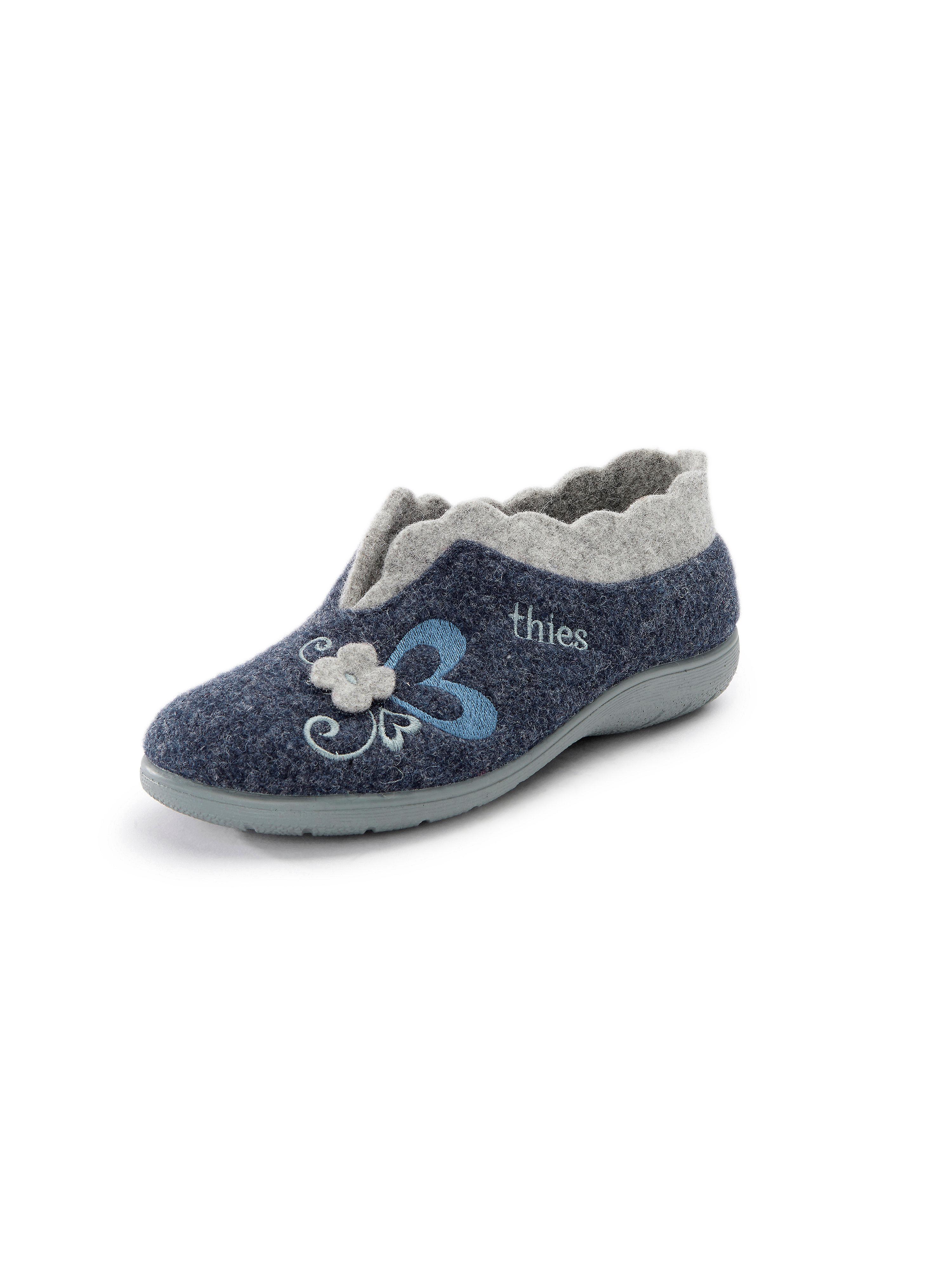 Pantoffels Van THIES blauw