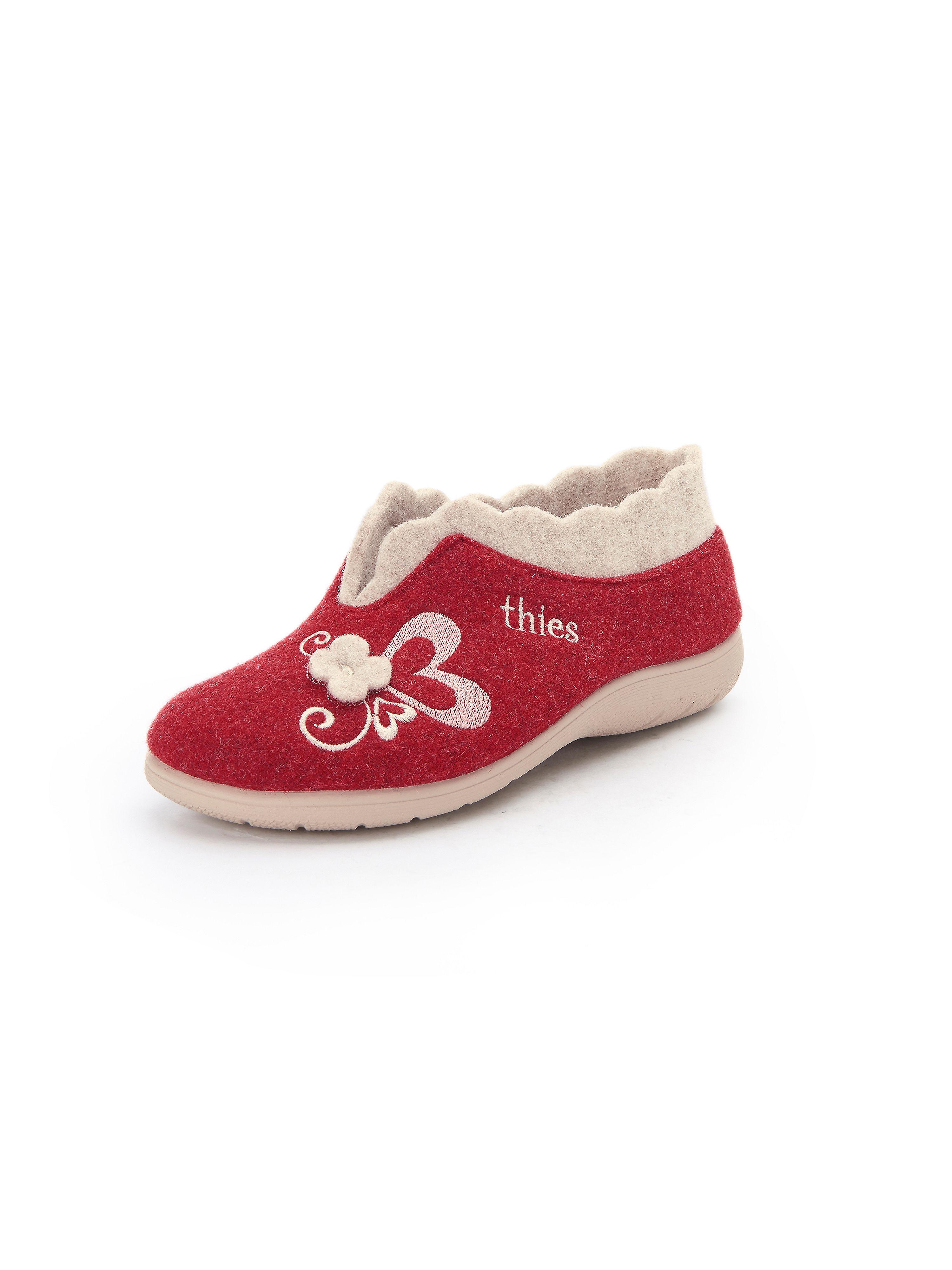 Pantoffels Van THIES rood