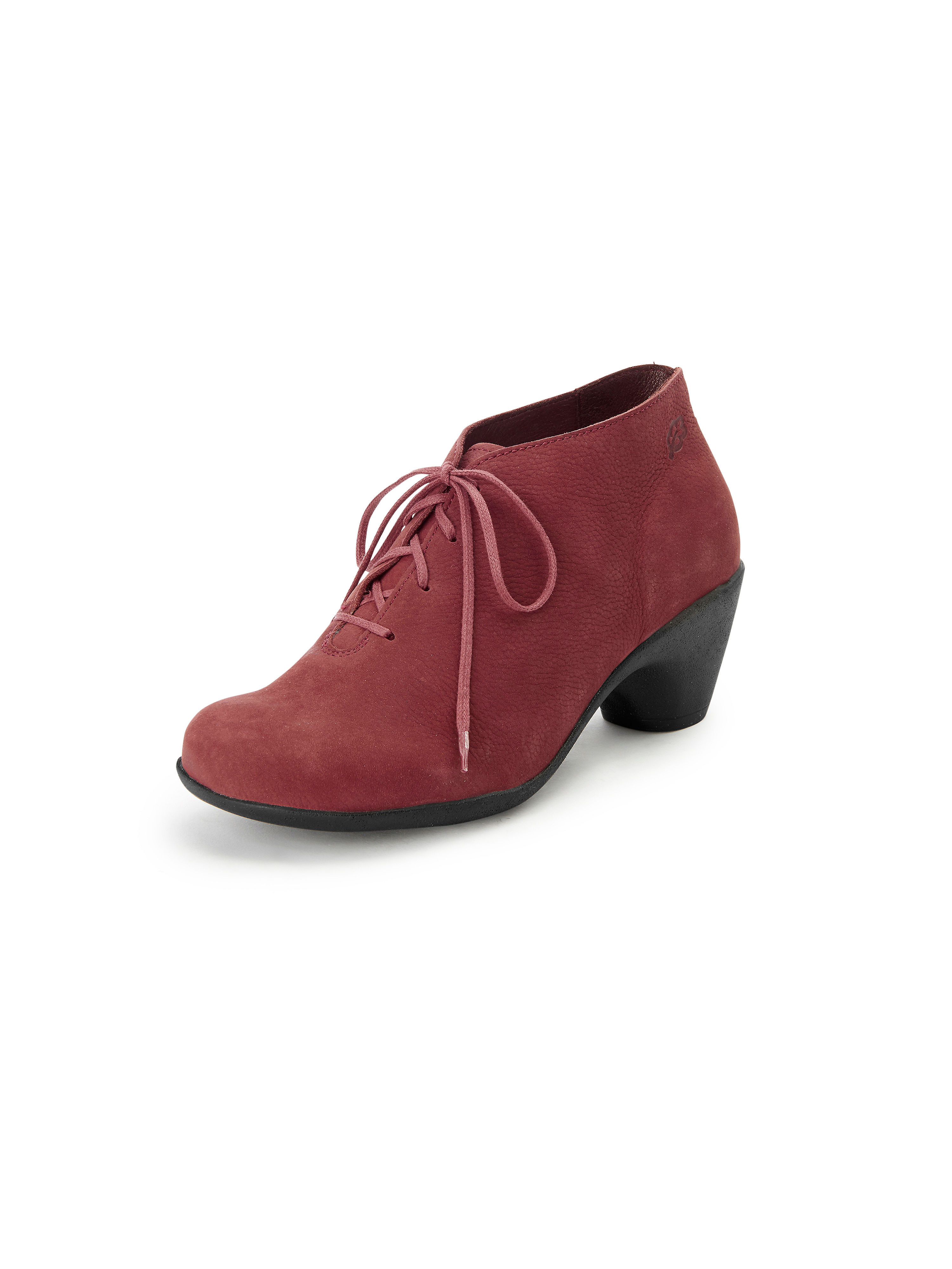 Les bottines cuir nubuck Loints Of Holland rouge taille 38
