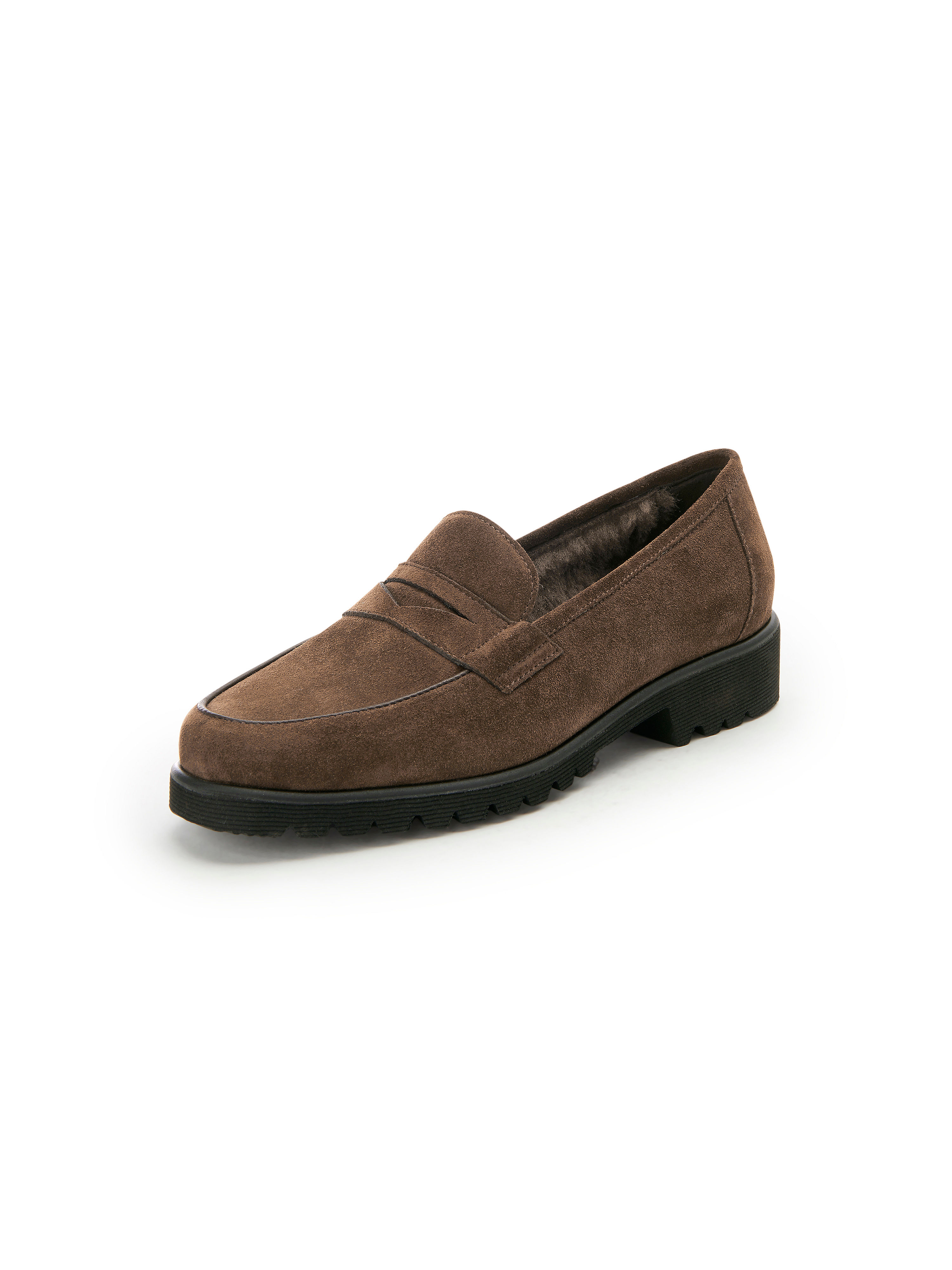 Les mocassins cuir  Peter Hahn exquisit marron taille 38