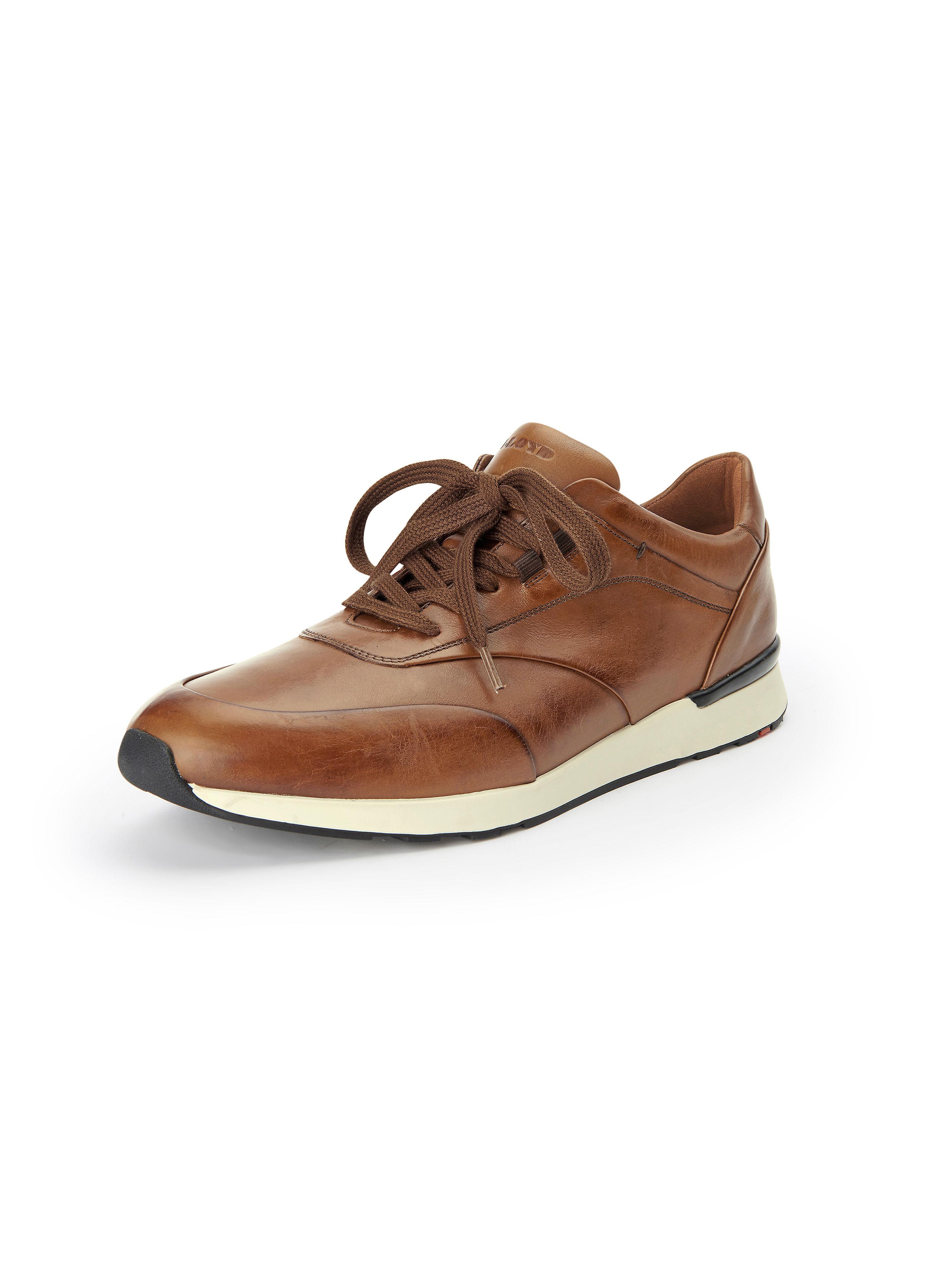 Image of   Sporty sneakers Ajas 100% skind Fra Lloyd brun