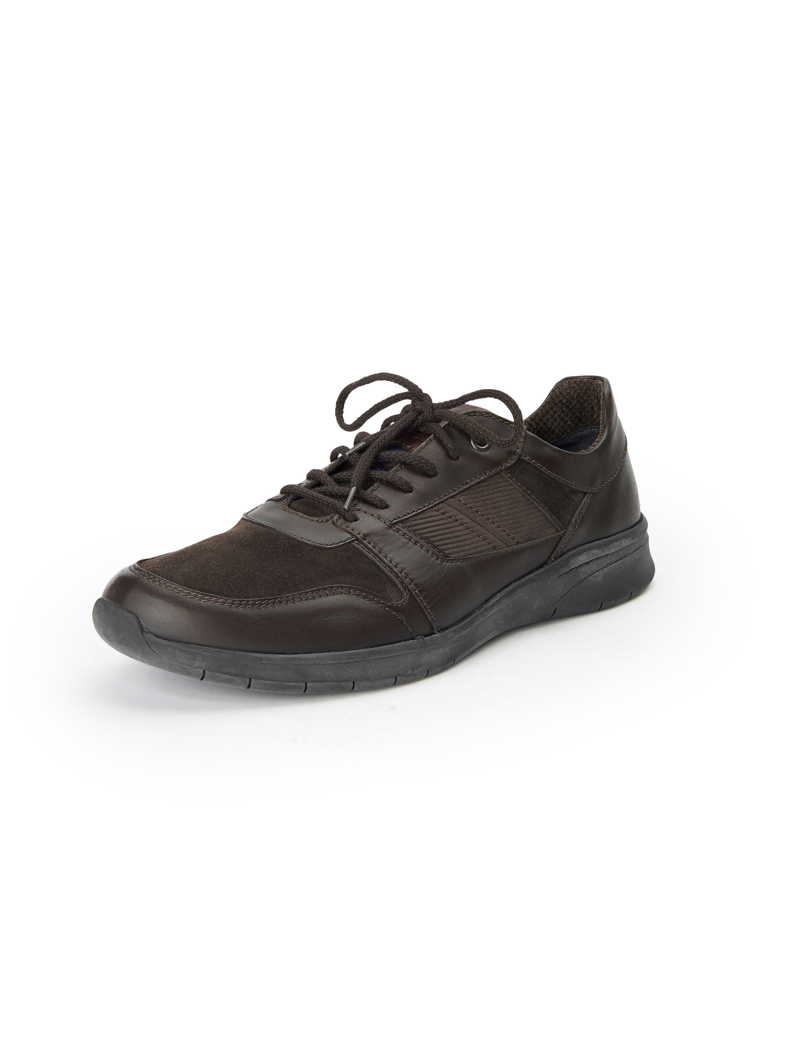 Les sneakers Heimito cuir nappa Sioux marron taille 43