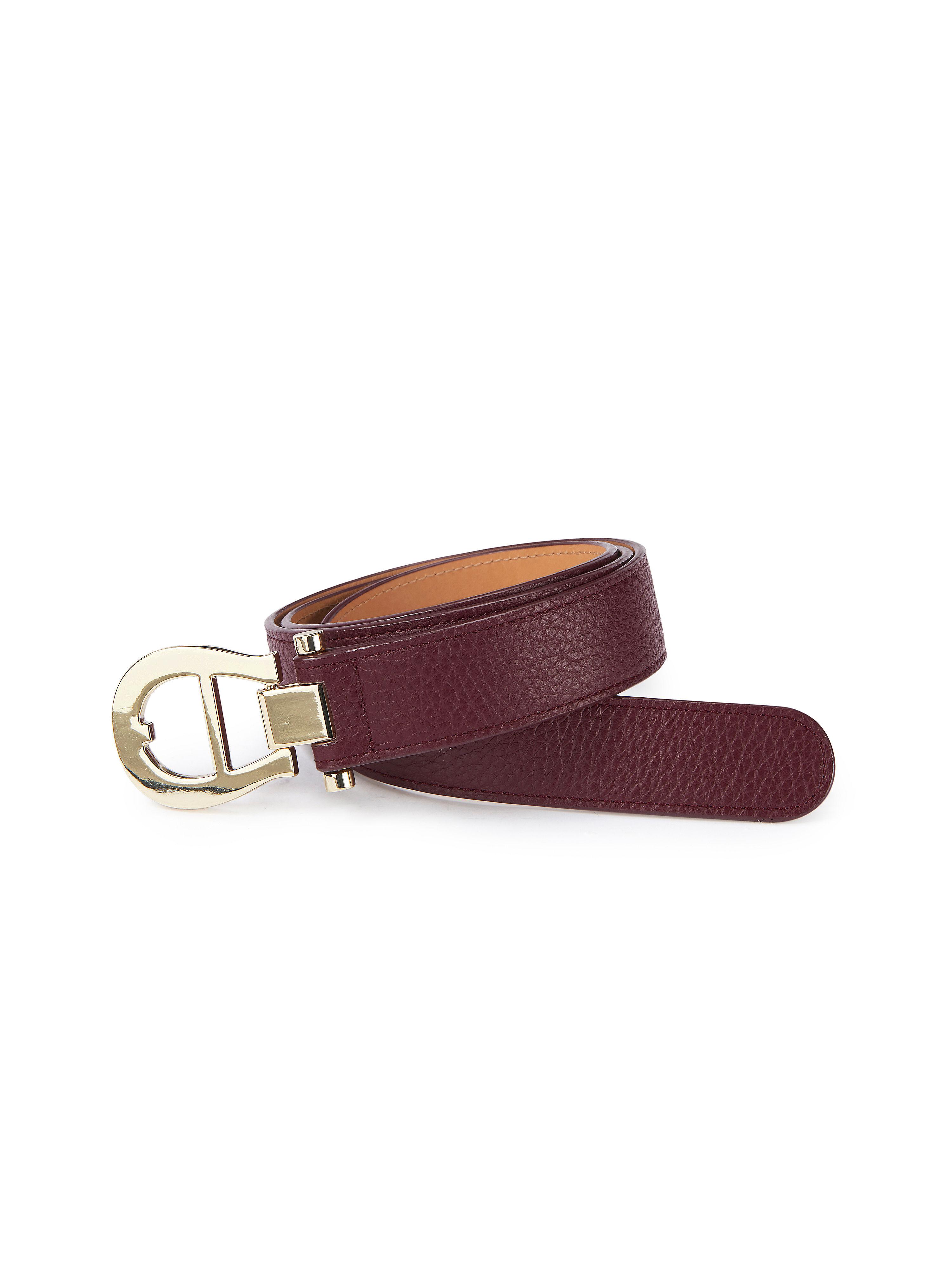 La ceinture 100% cuir  Aigner noir