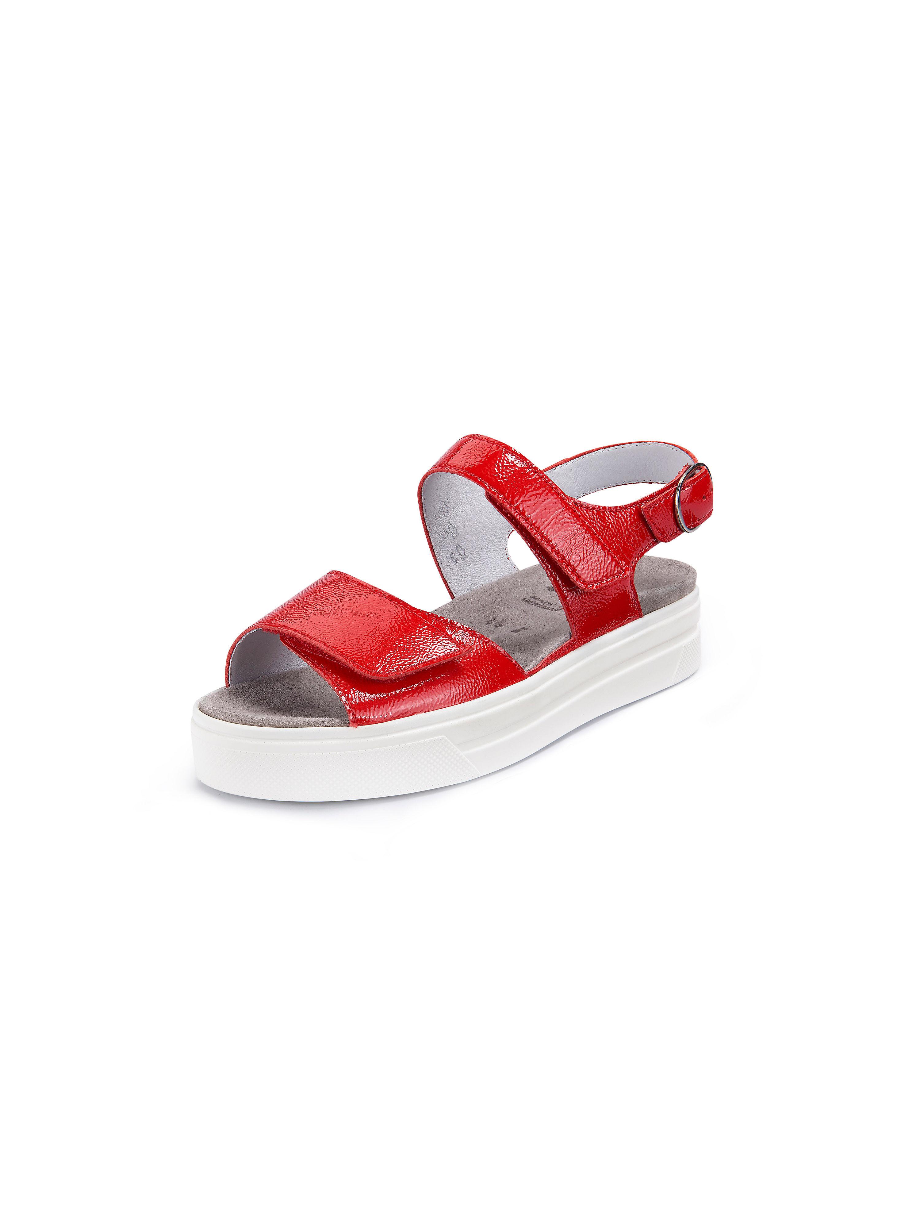 Les sandales Katrin  Semler rouge taille 36