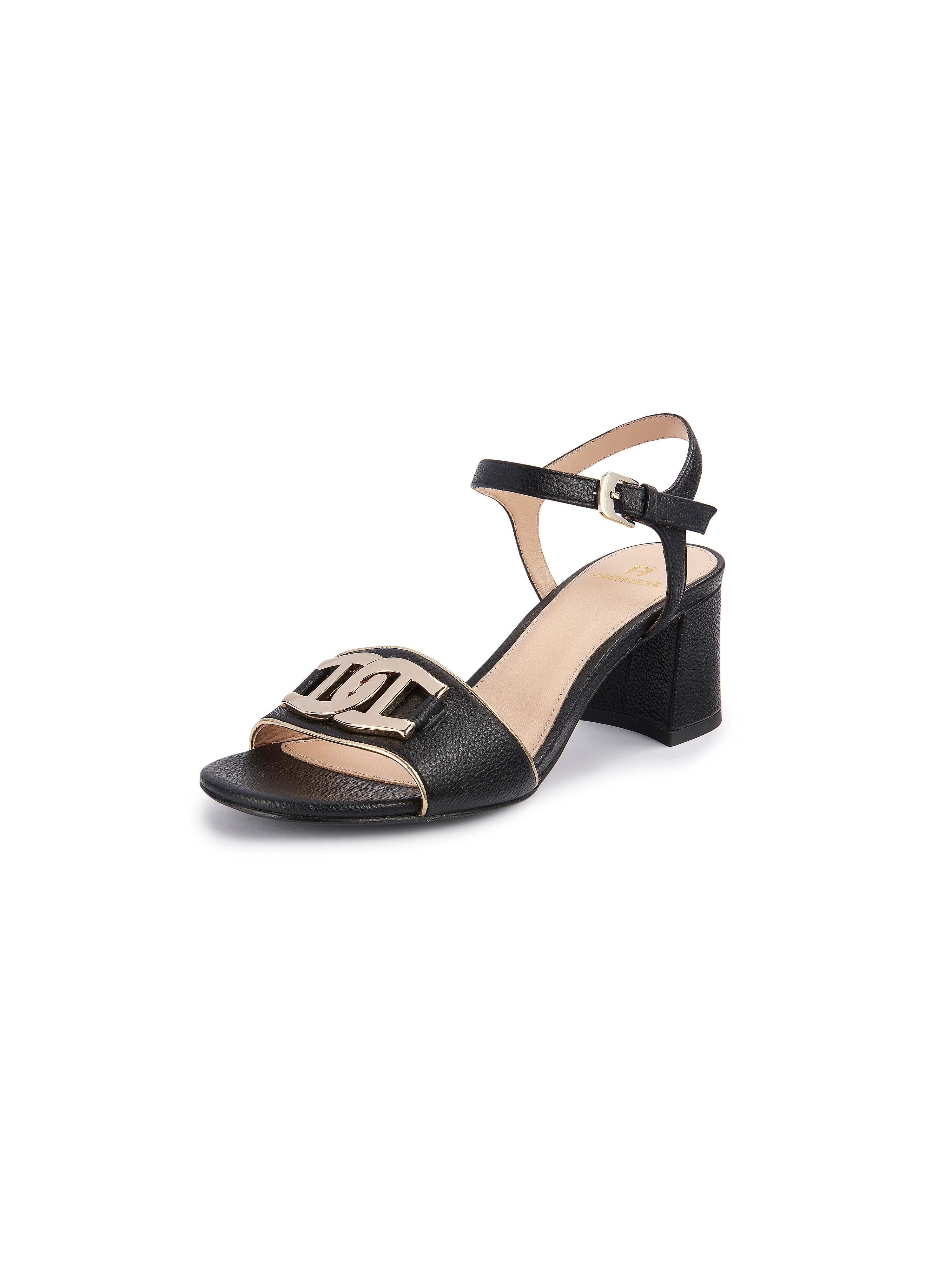 Les sandales Grazia  Aigner noir taille 35