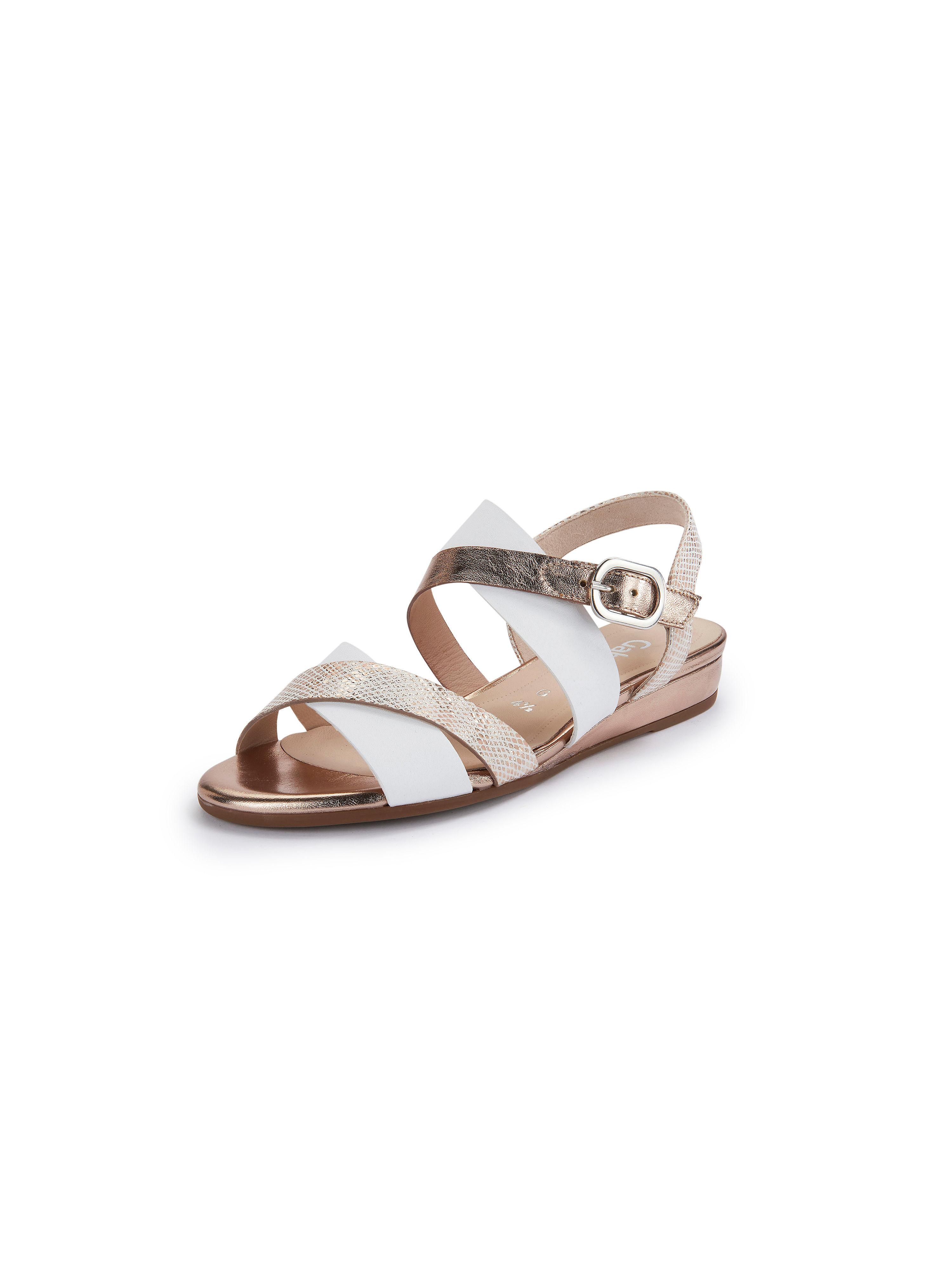 Sandalette Gabor Comfort weiss | Schuhe > Sandalen & Zehentrenner | Metallic - Weiß | Gabor Comfort