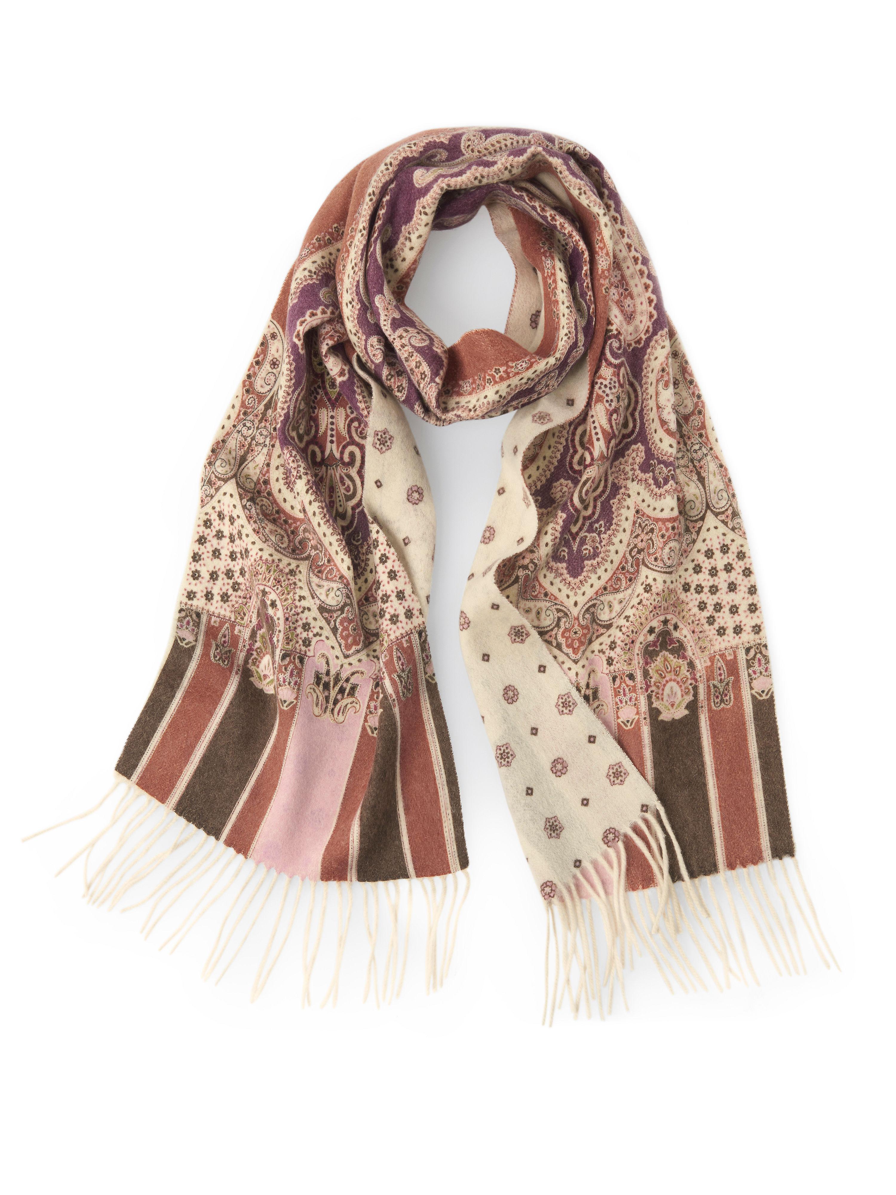Image of   Halstørklæde i 100% uld Fra Peter Hahn multicolor